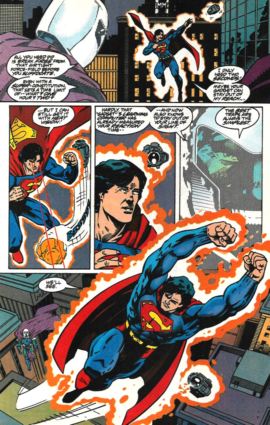 Read online Adventures of Superman (1987) comic -  Issue #517 - 15