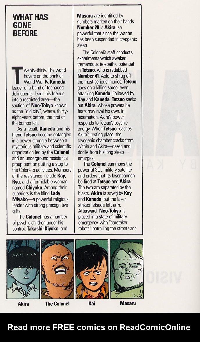 Read online Akira comic -  Issue #25 - 5