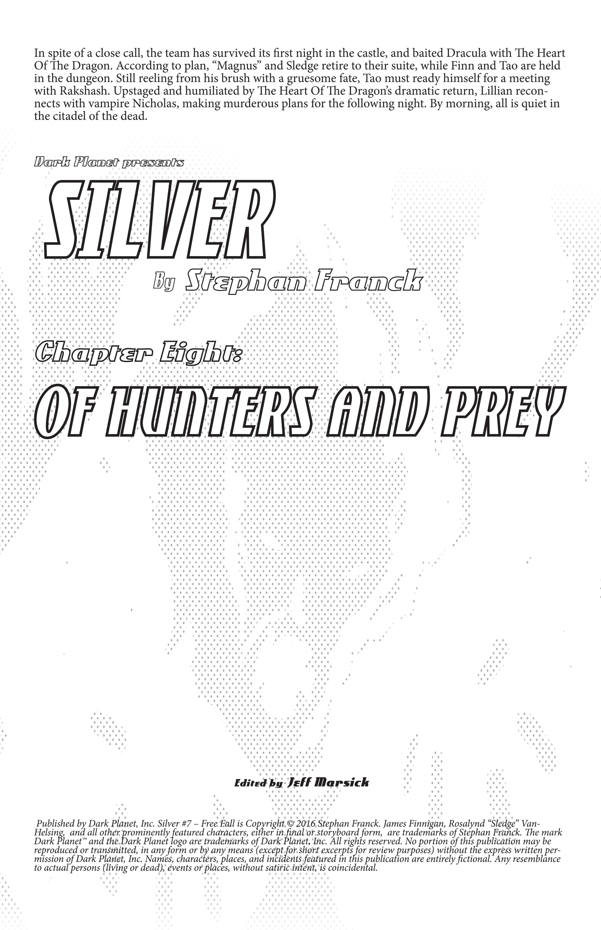 Read online Silver comic -  Issue #7 - 2