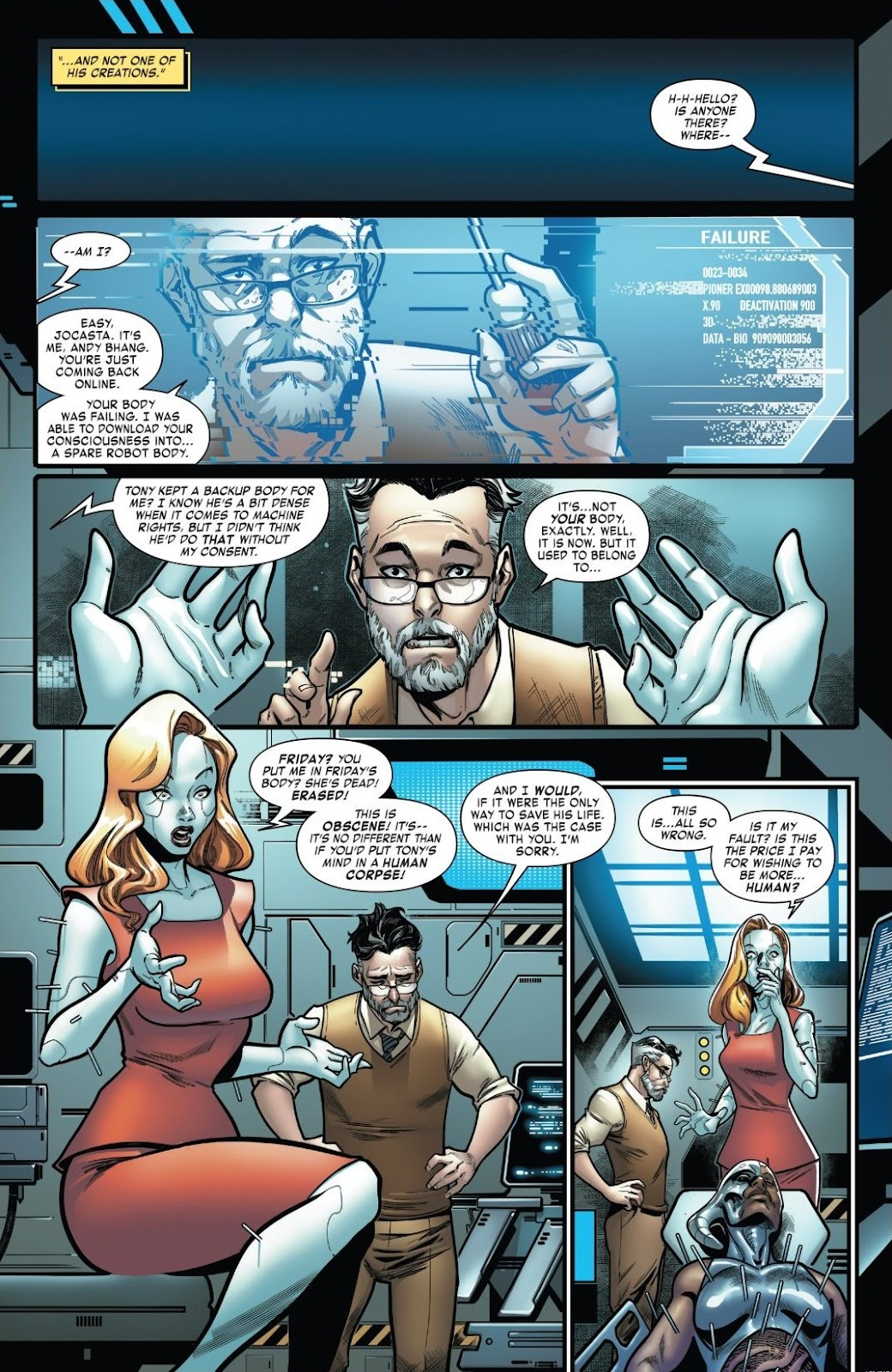 Read online Tony Stark: Iron Man comic -  Issue #18 - 9