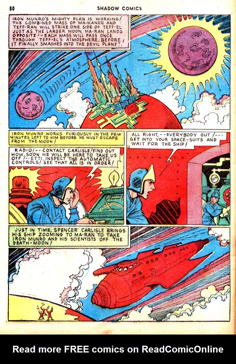 Read online Shadow Comics comic -  Issue #7 - 43