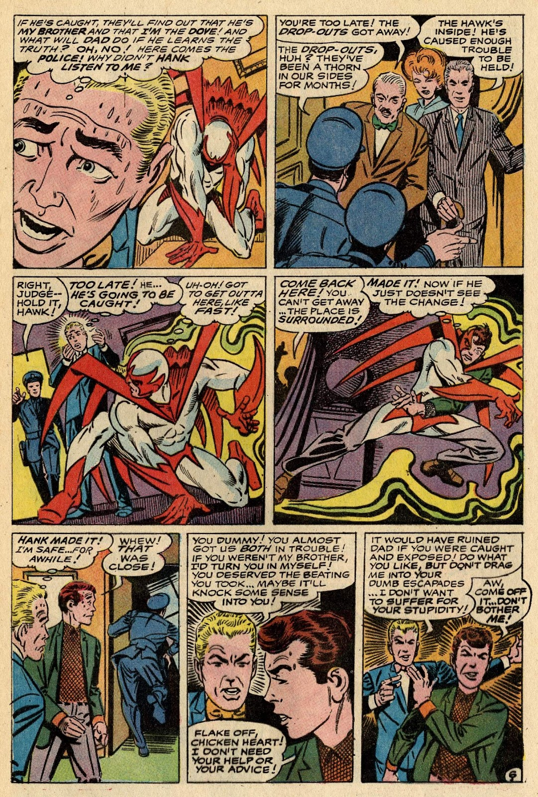 The Hawk and the Dove issue 1 - Page 9