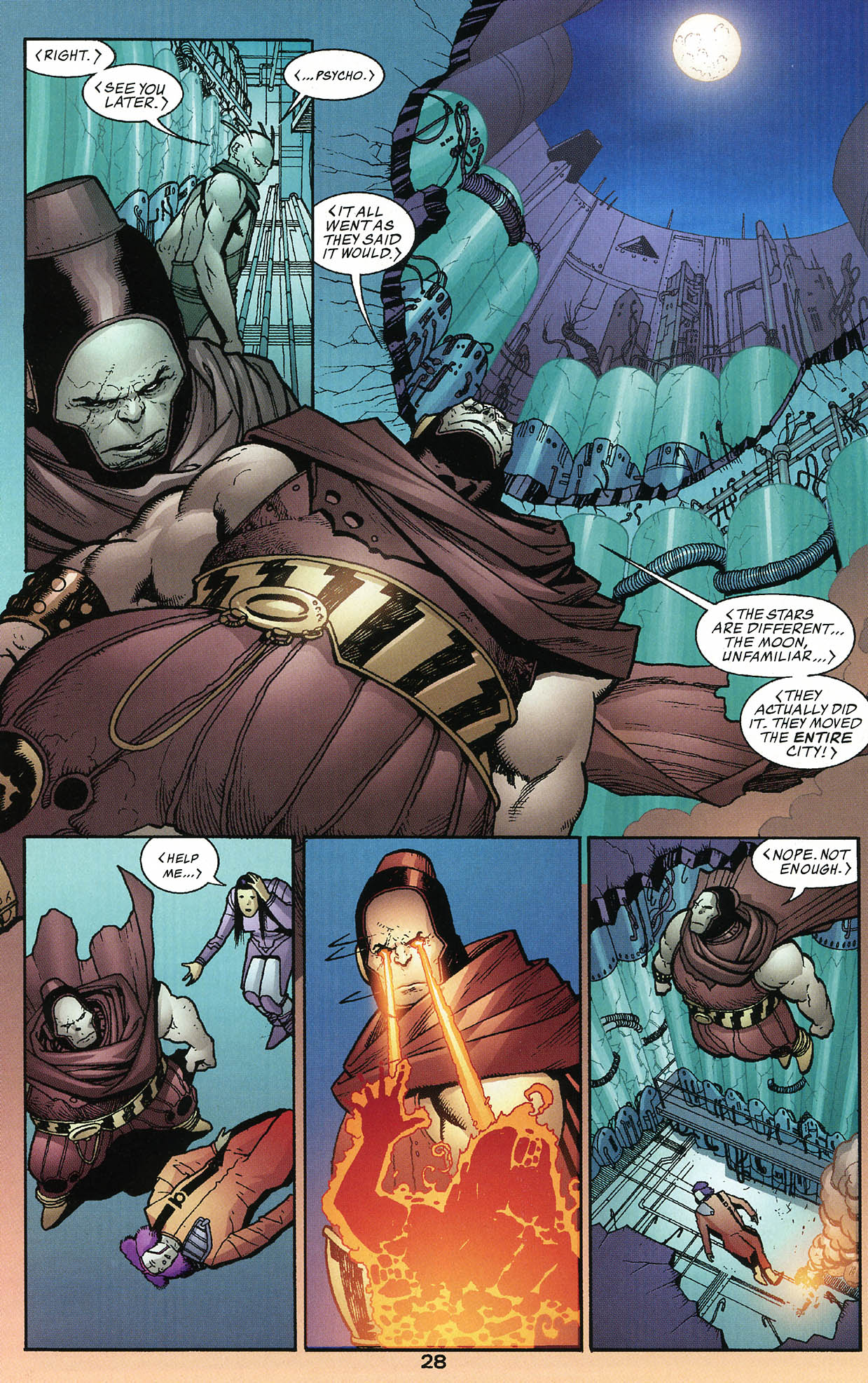 Read online JLA/Haven: Arrival comic -  Issue # Full - 28