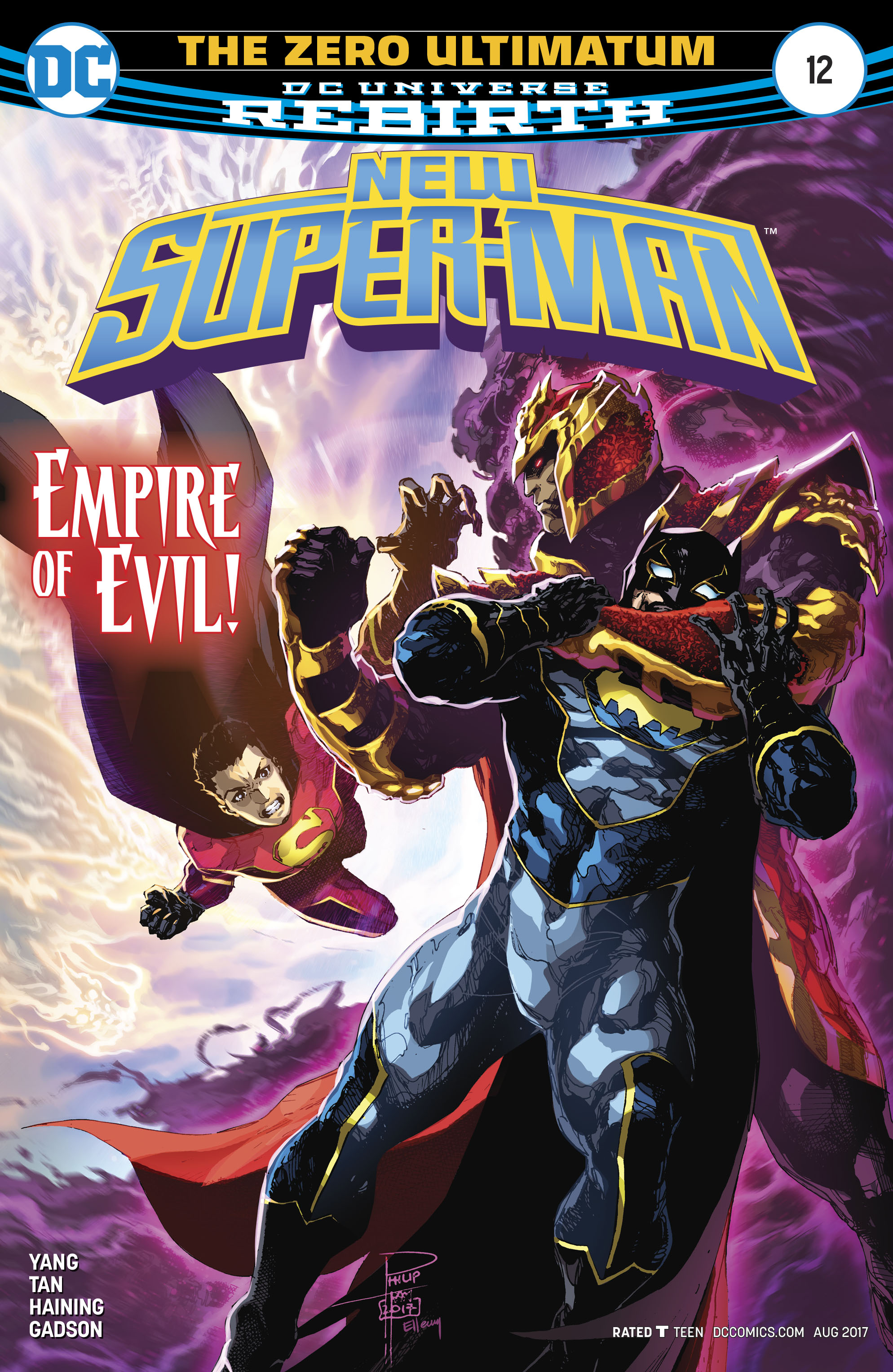 Read online New Super-Man comic -  Issue #12 - 1