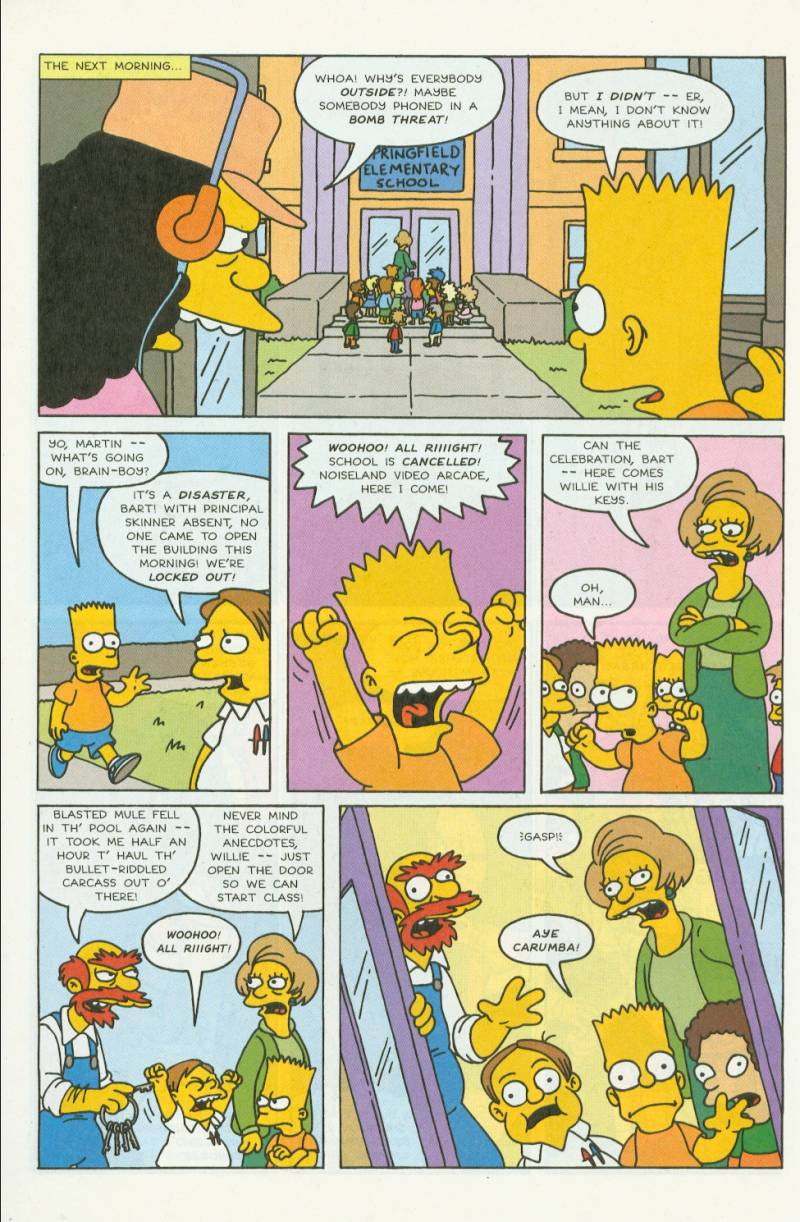 Read online Simpsons Comics comic -  Issue #3 - 7