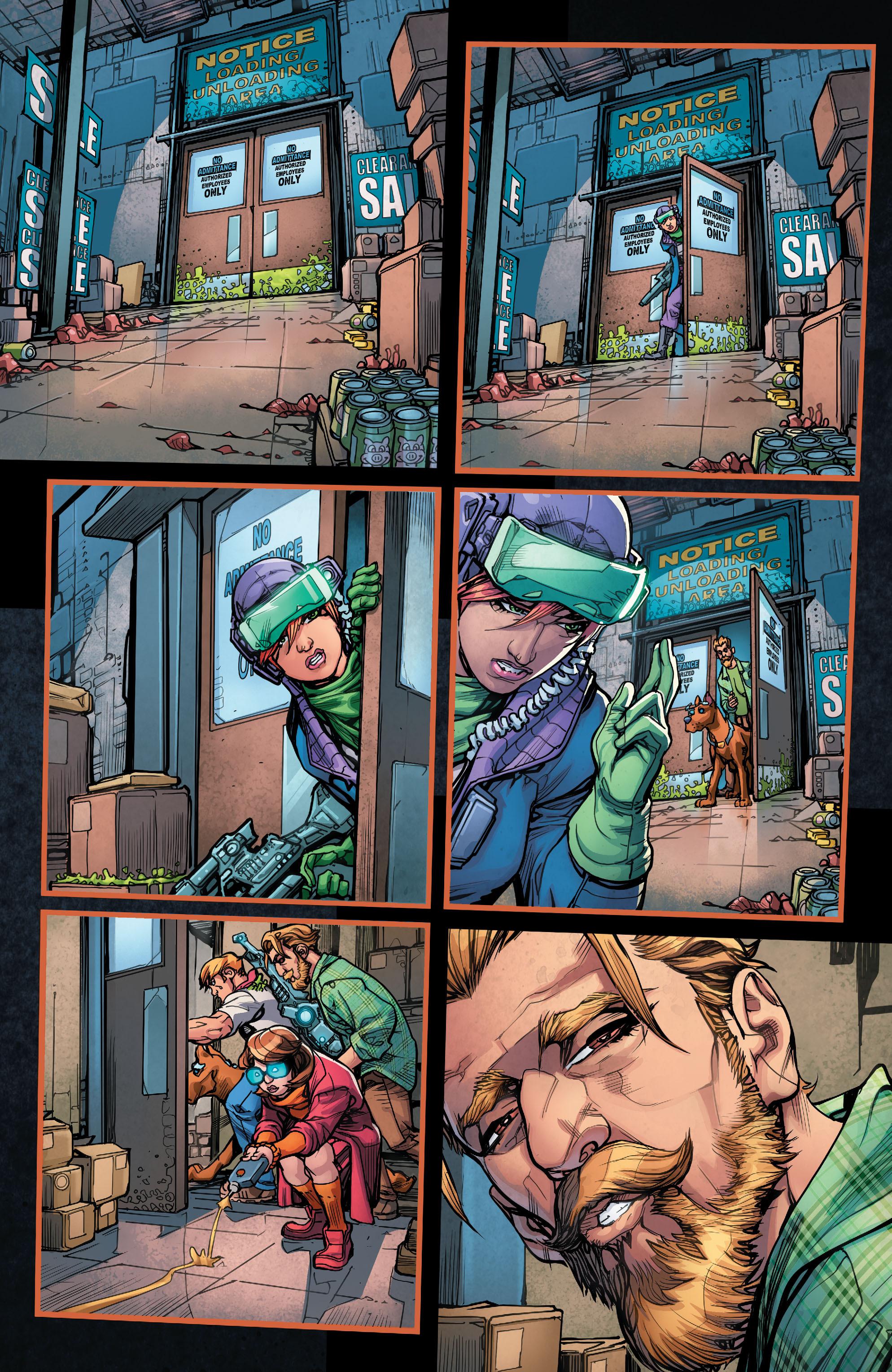 Read online Scooby Apocalypse comic -  Issue #7 - 13