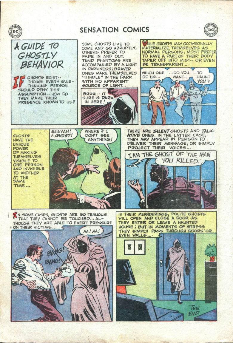 Read online Sensation (Mystery) Comics comic -  Issue #109 - 12