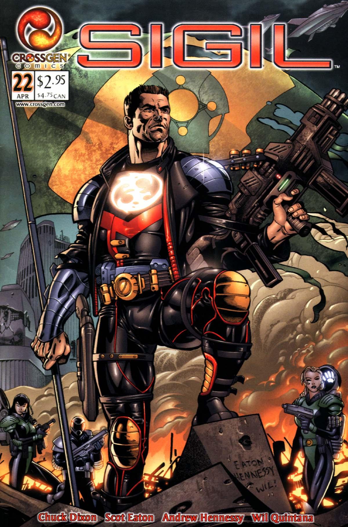 Read online Sigil (2000) comic -  Issue #22 - 1