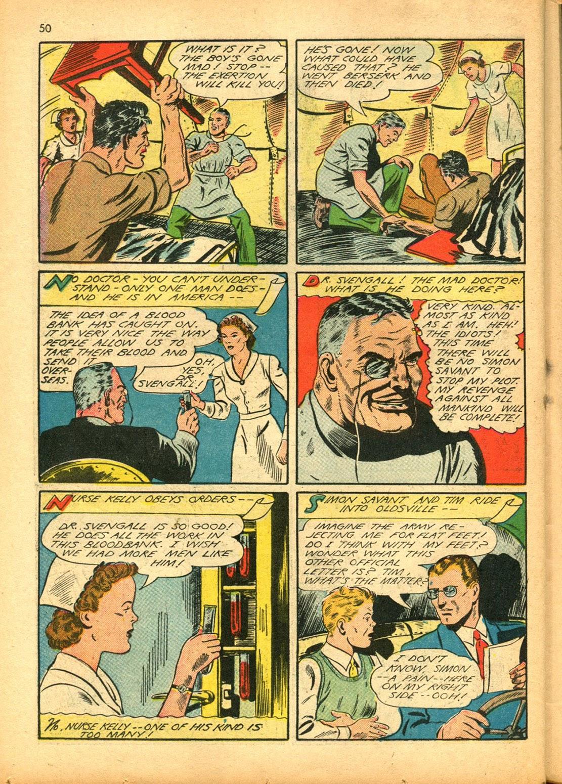 Read online Super-Magician Comics comic -  Issue #15 - 49