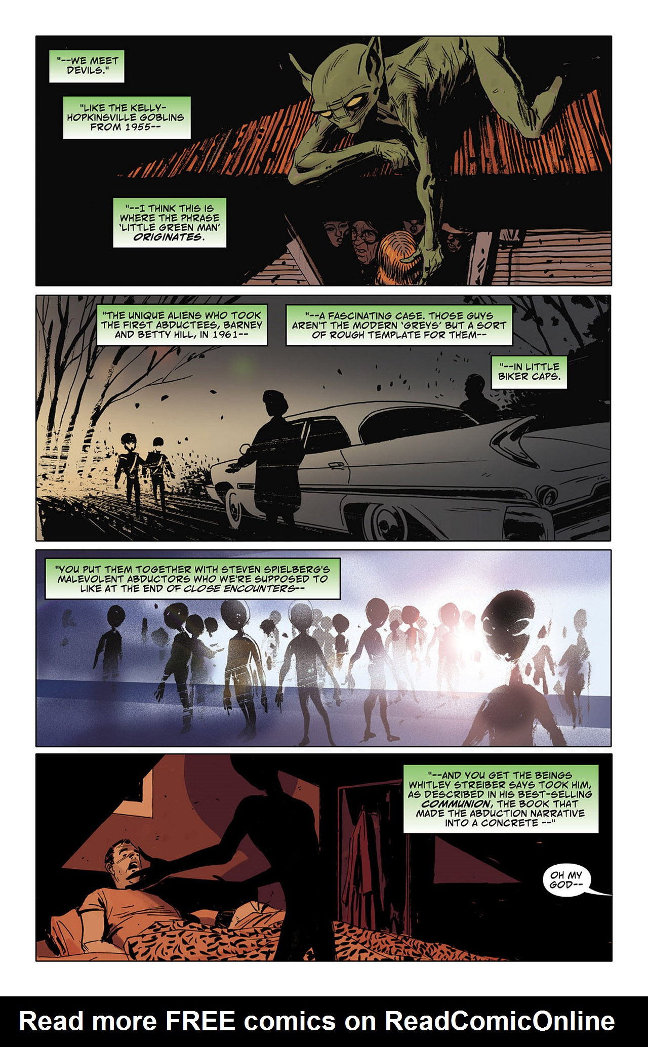 Read online Saucer Country comic -  Issue #6 - 10