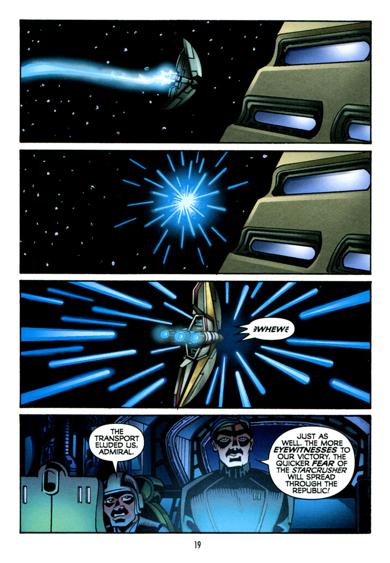 Read online Star Wars: The Clone Wars - The Starcrusher Trap comic -  Issue # Full - 20