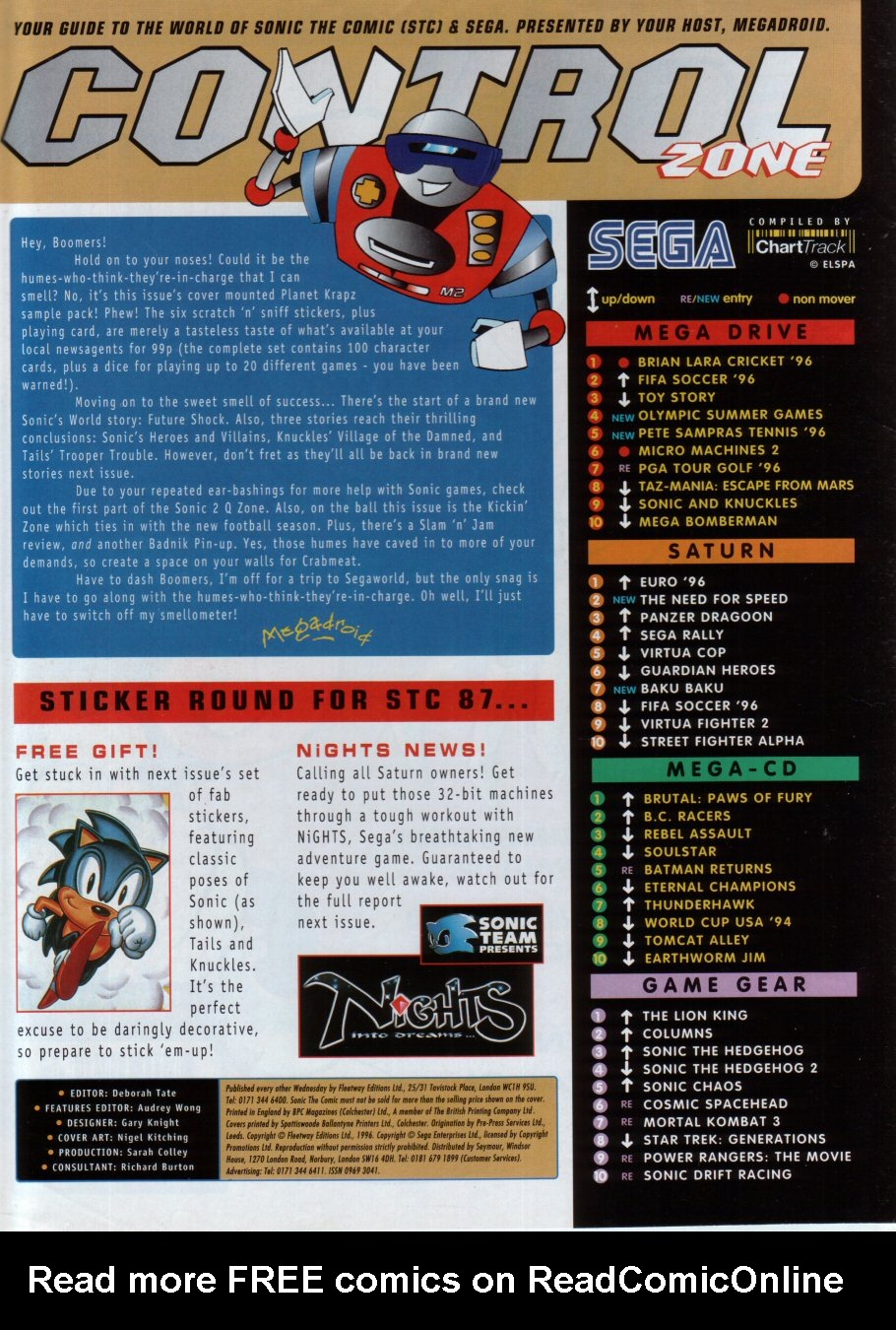 Read online Sonic the Comic comic -  Issue #86 - 2