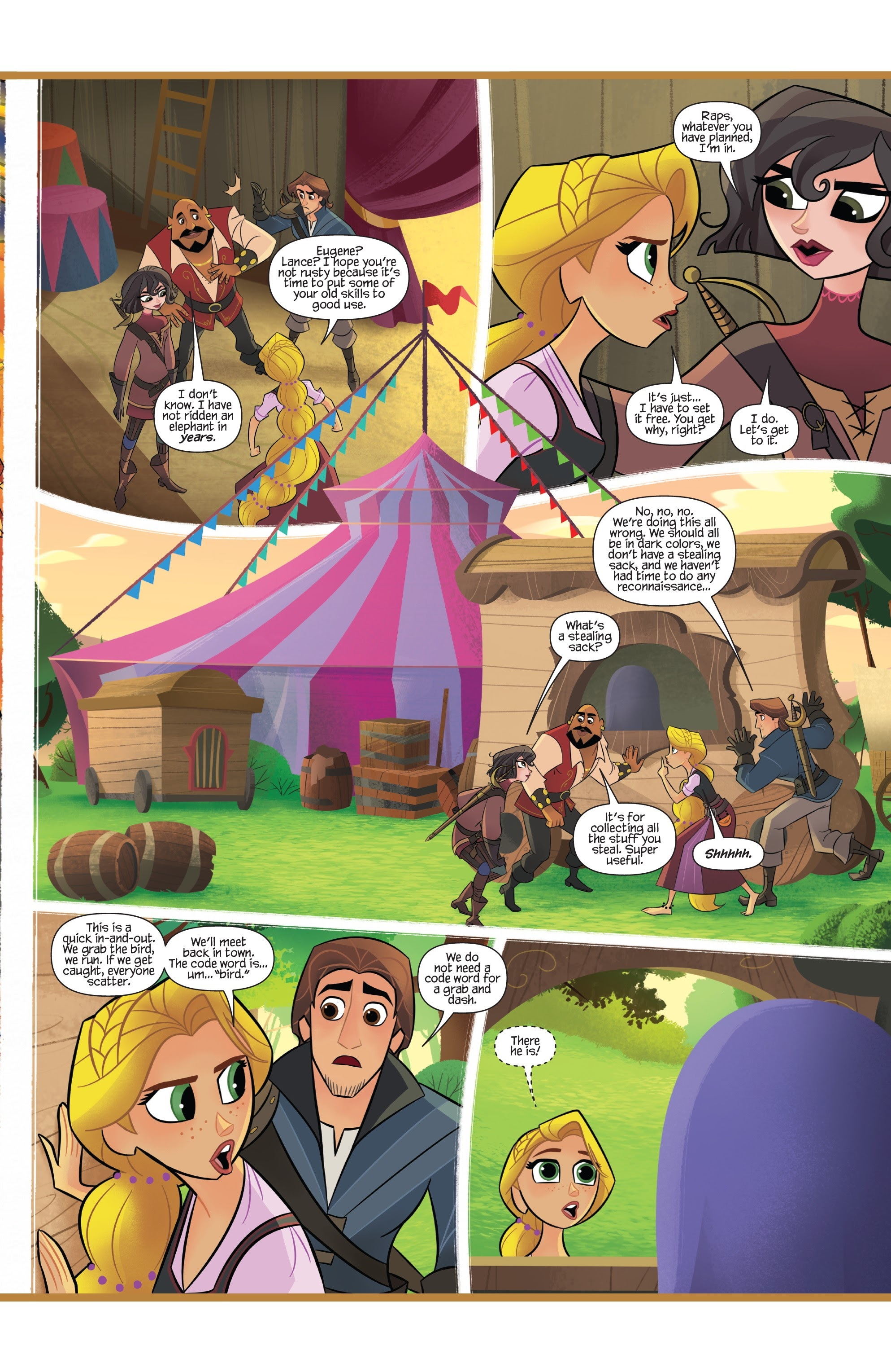 Tangled: The Series: Hair and Now 2 Page 9