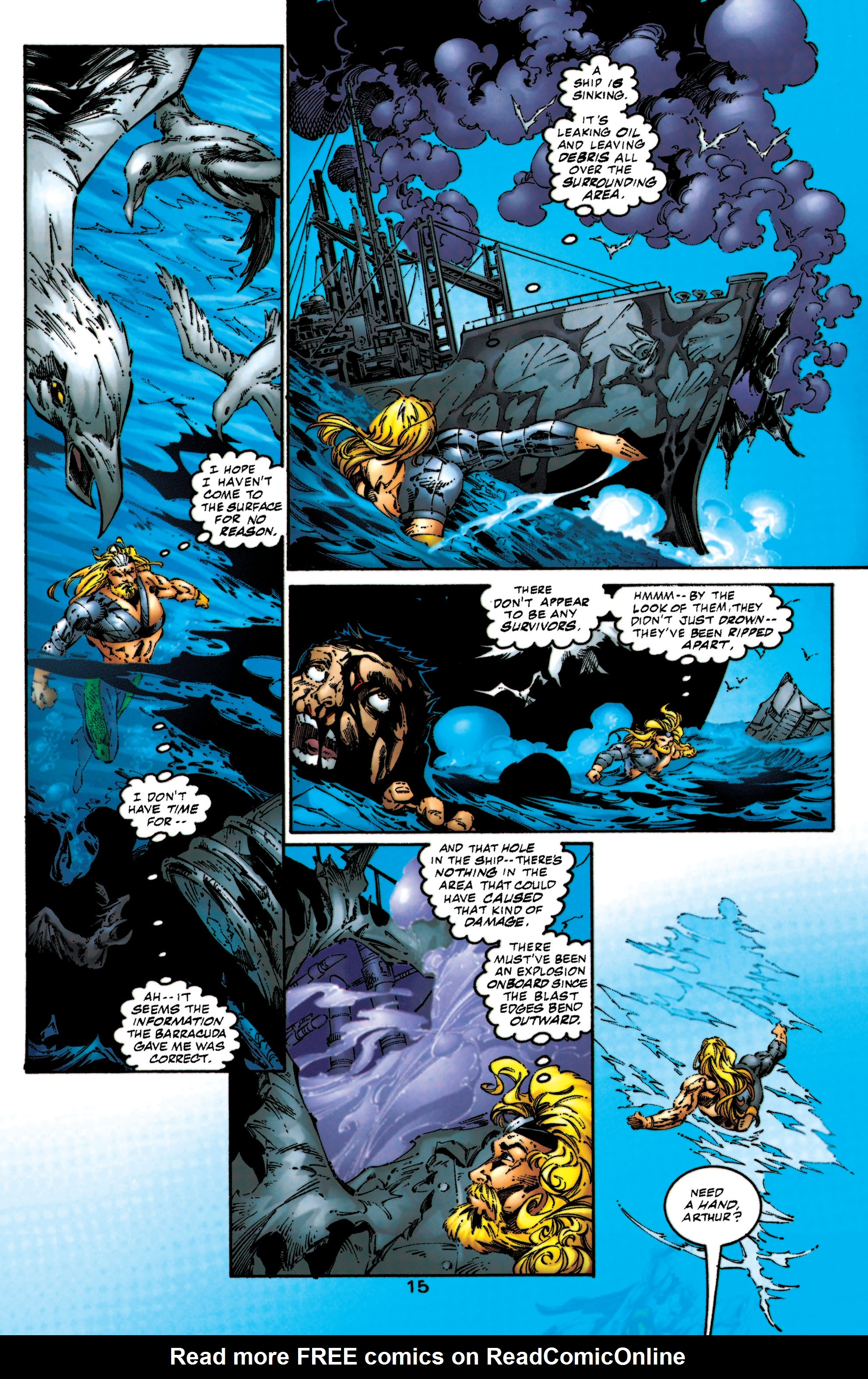 Read online Aquaman (1994) comic -  Issue #53 - 16