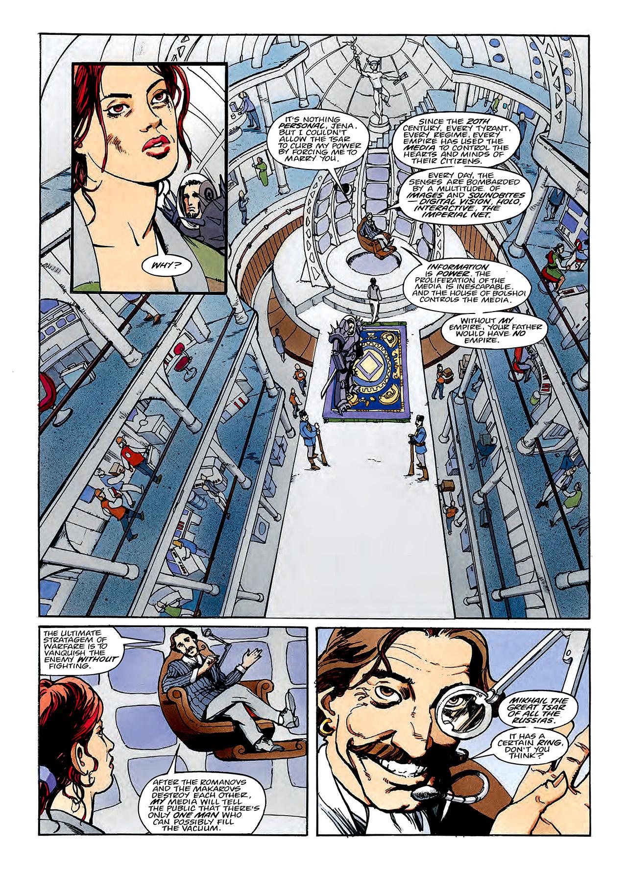 Read online Nikolai Dante comic -  Issue # TPB 3 - 109