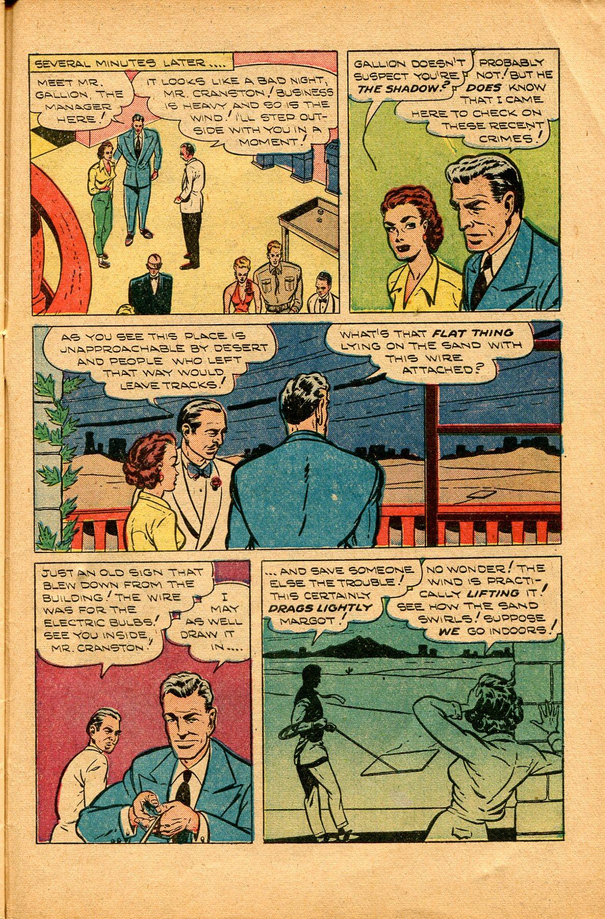 Read online Shadow Comics comic -  Issue #94 - 39
