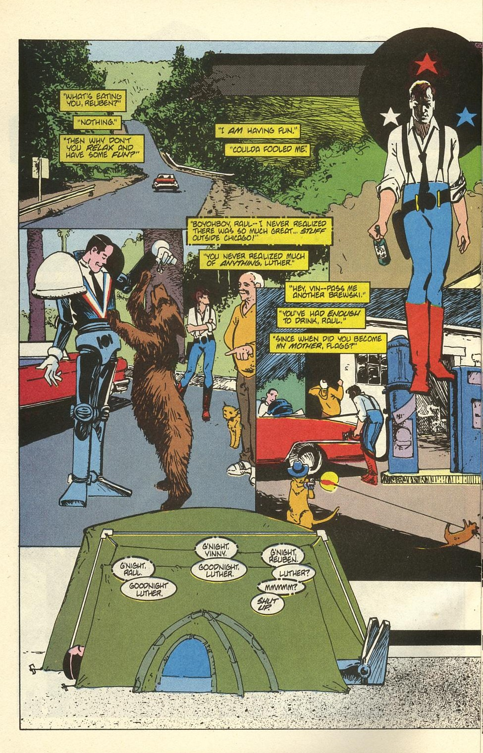 Read online American Flagg! comic -  Issue #41 - 10