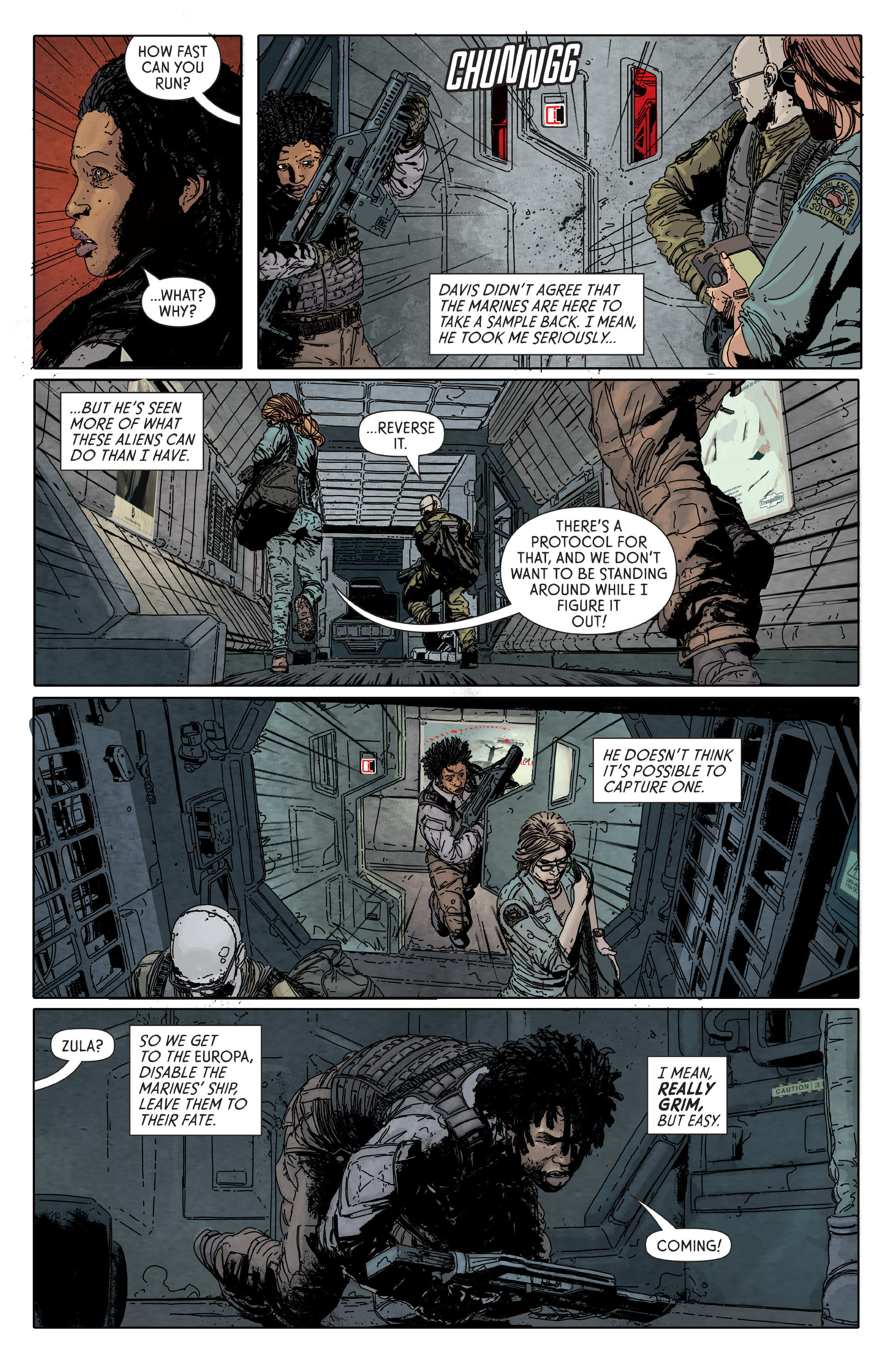 Read online Aliens: Defiance comic -  Issue #6 - 9