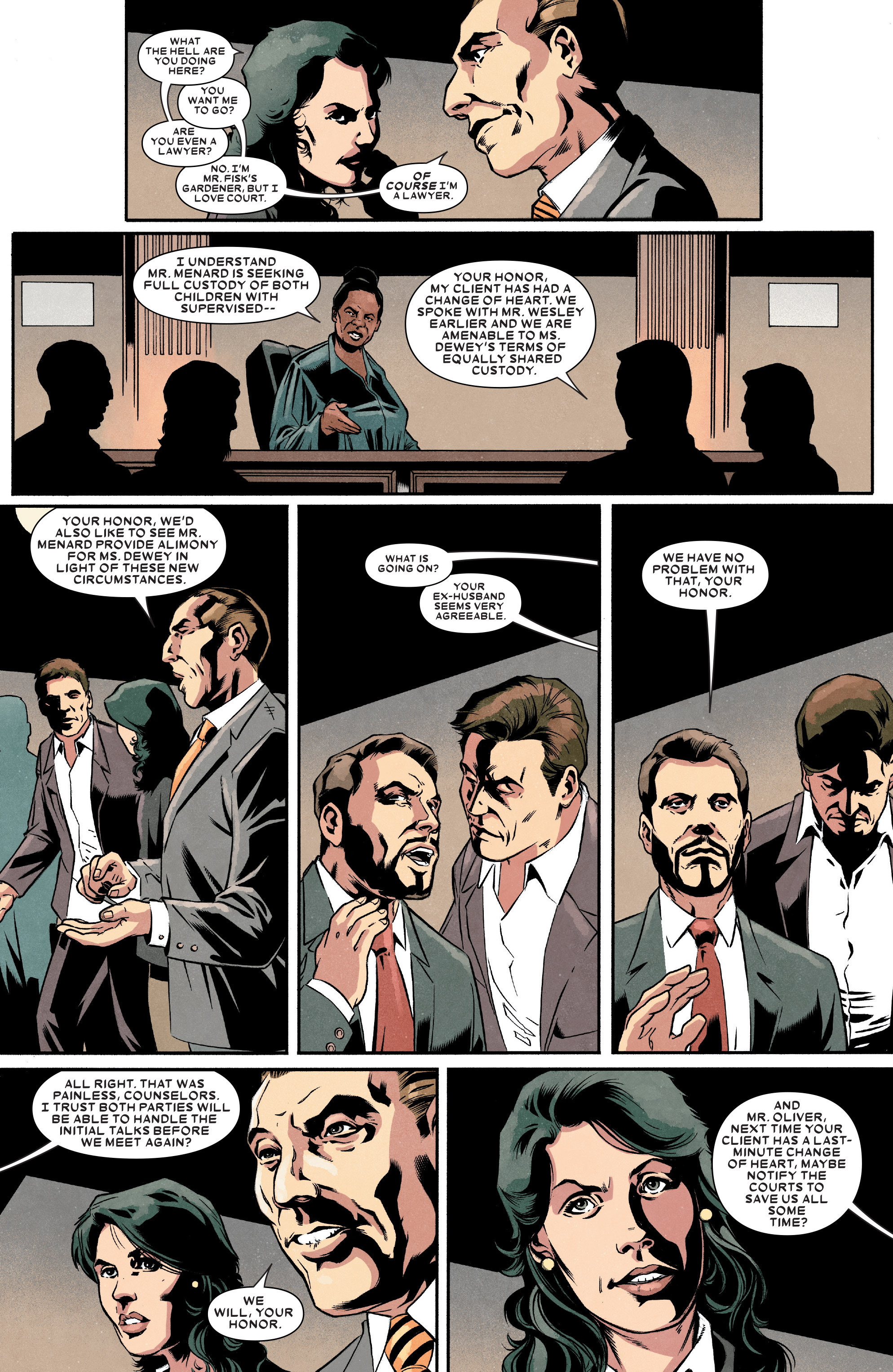 Read online Kingpin (2017) comic -  Issue #4 - 9