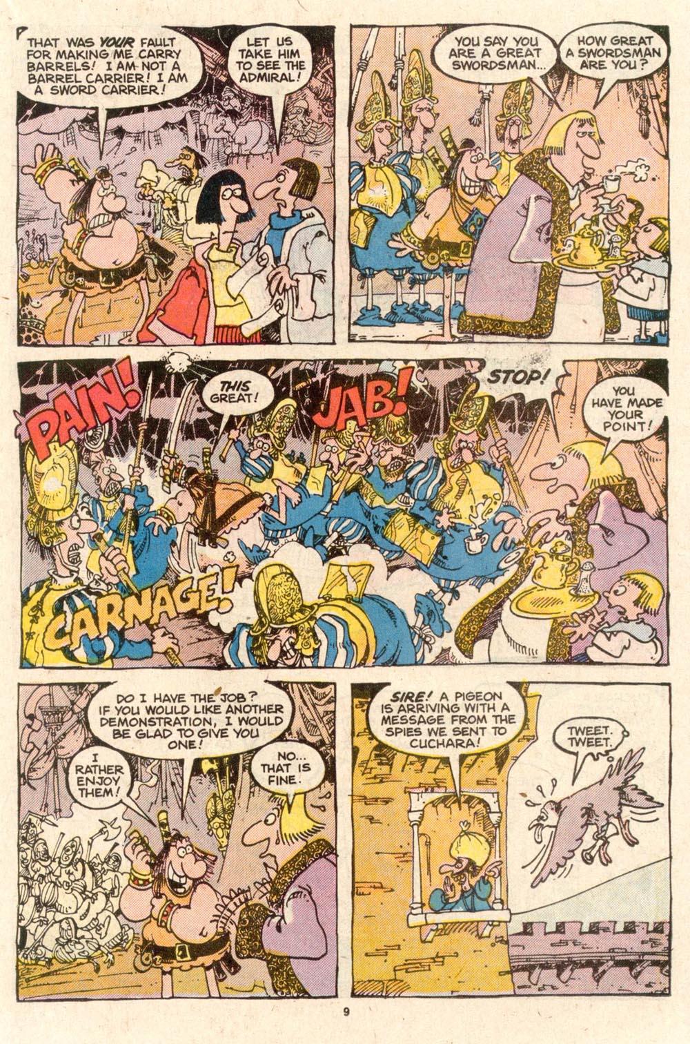 Read online Sergio Aragonés Groo the Wanderer comic -  Issue #54 - 9