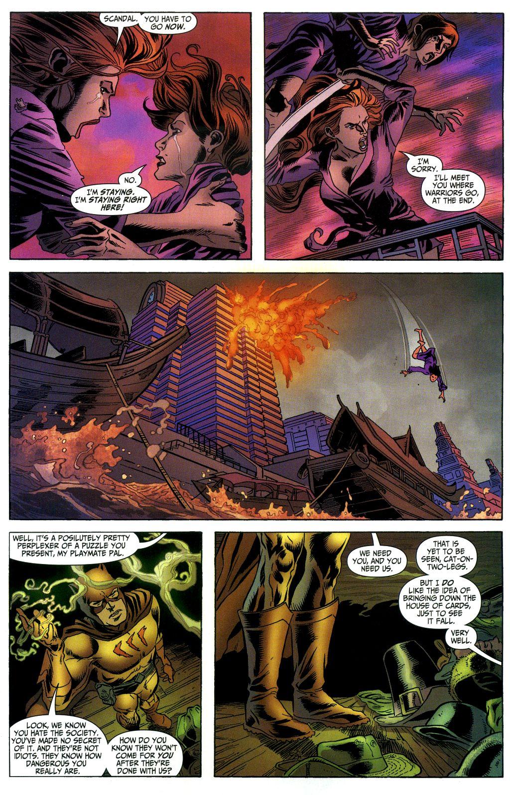 Read online Secret Six (2006) comic -  Issue #1 - 22