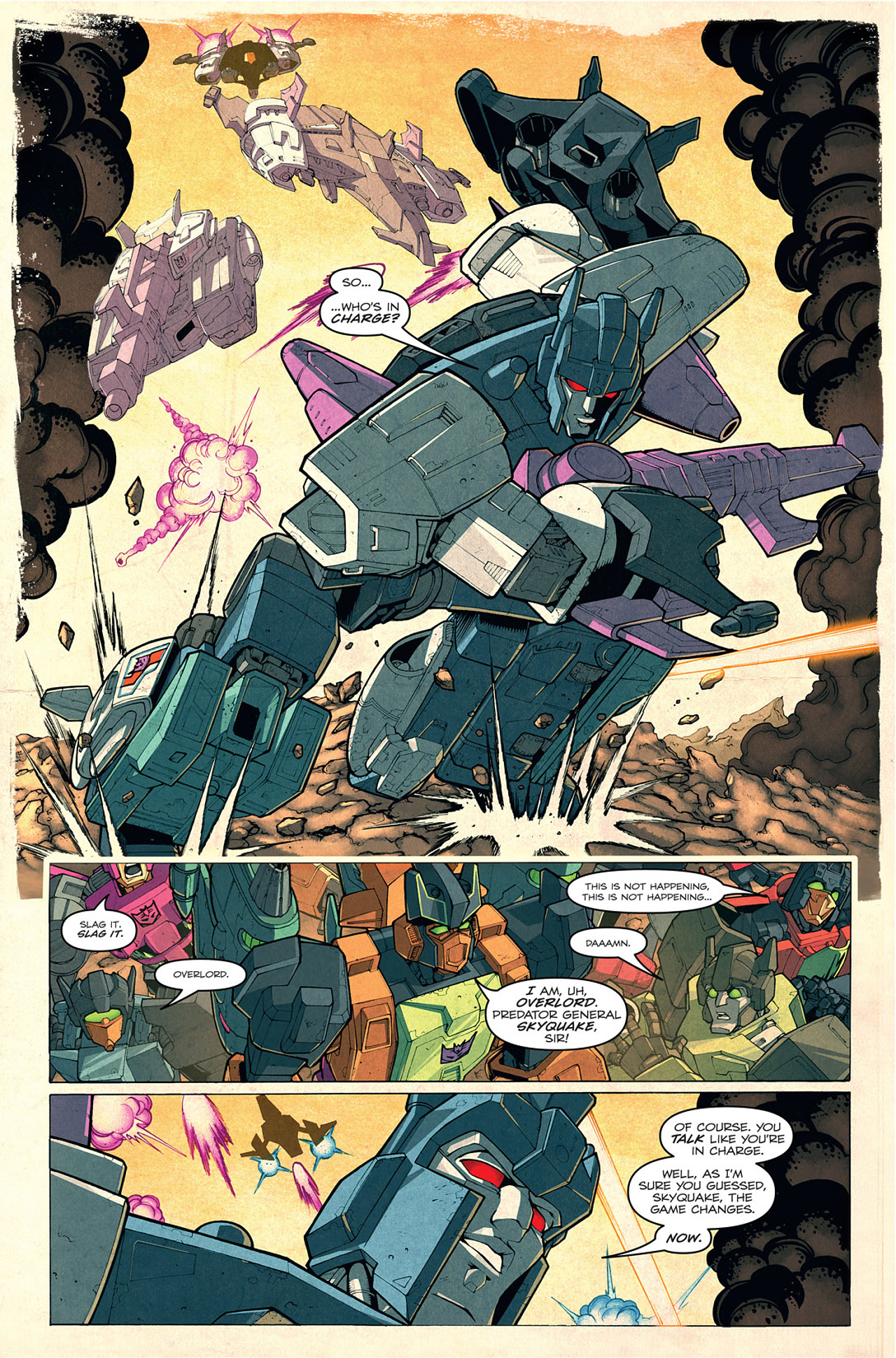 Read online Transformers: Last Stand of The Wreckers comic -  Issue #1 - 7