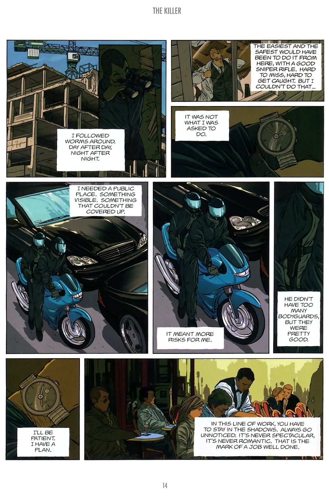 Read online The Killer comic -  Issue #10 - 14