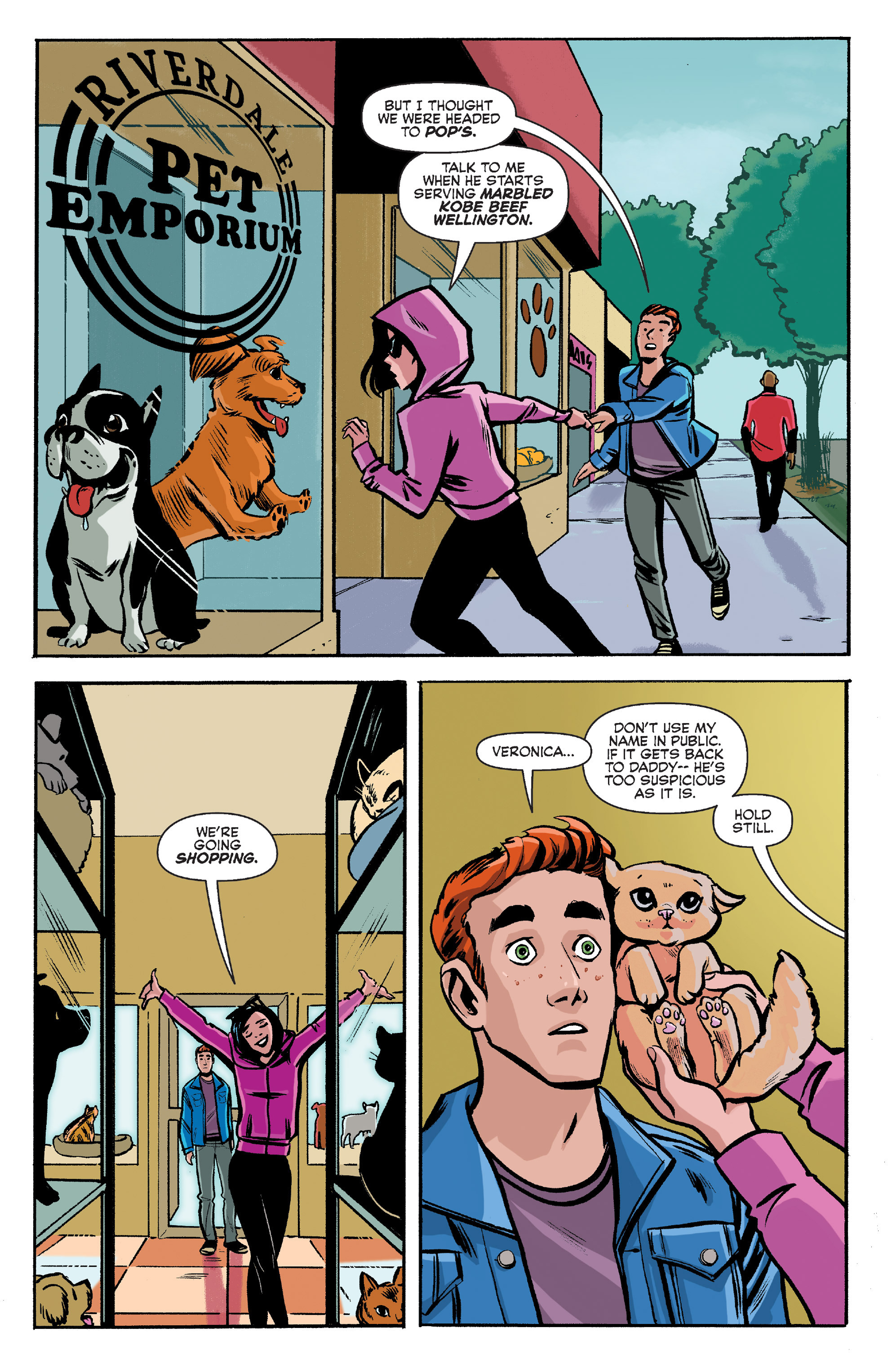 Read online Archie (2015) comic -  Issue #8 - 9