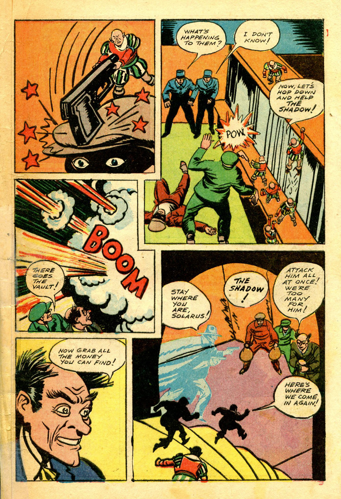 Read online Shadow Comics comic -  Issue #43 - 57