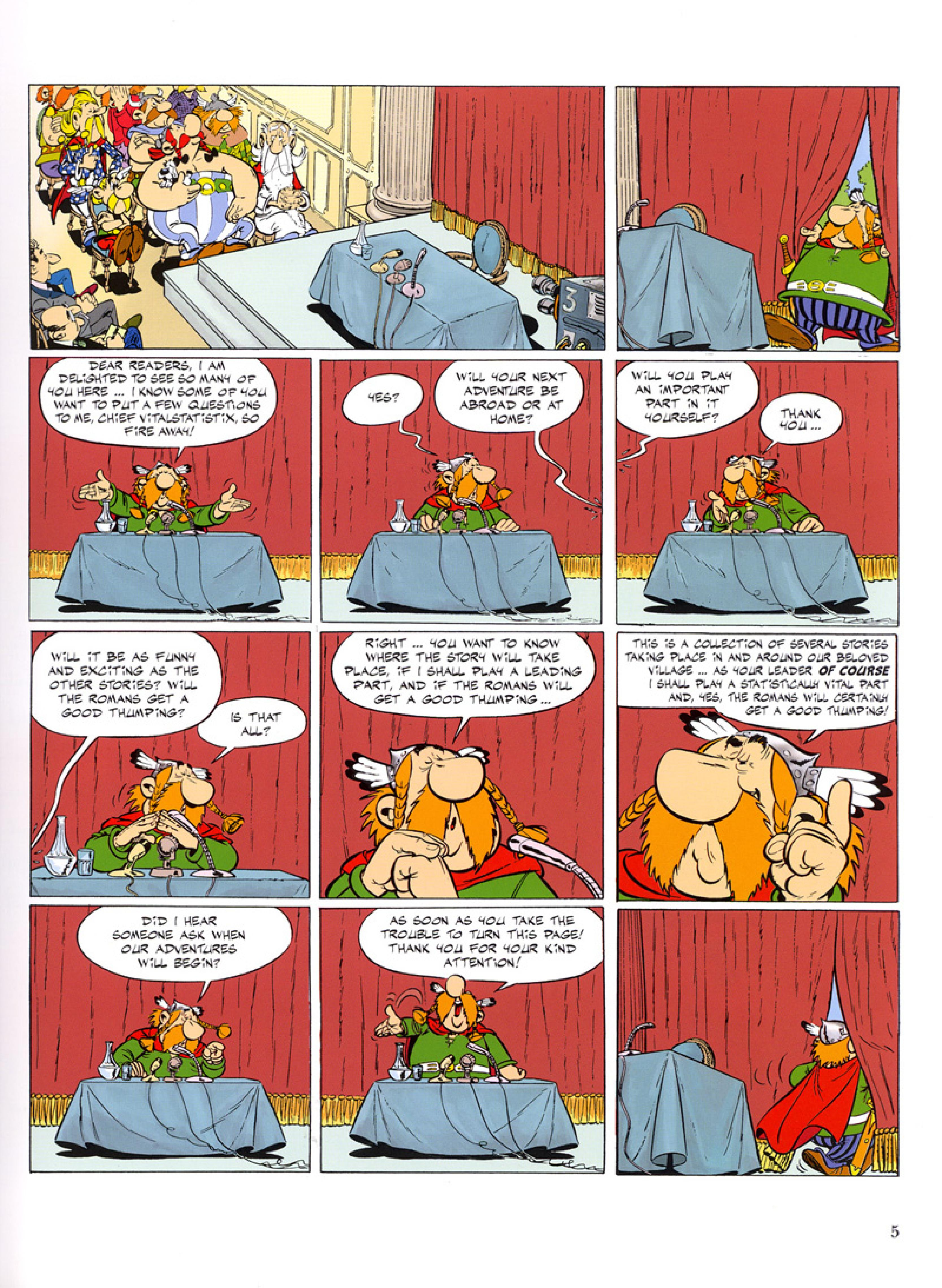 Read online Asterix comic -  Issue #32 - 6
