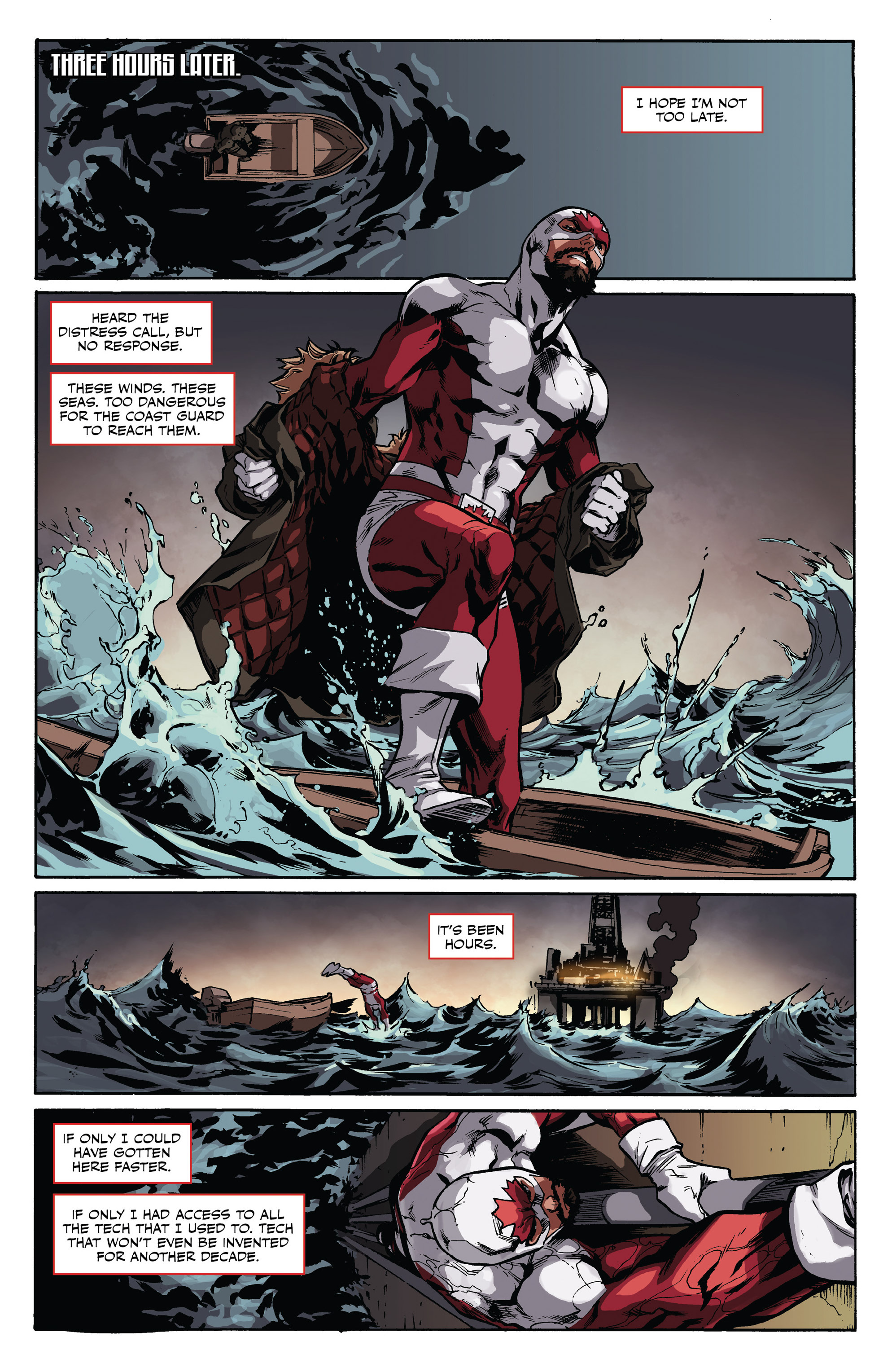 Read online All-New Classic Captain Canuck comic -  Issue #0 - 13