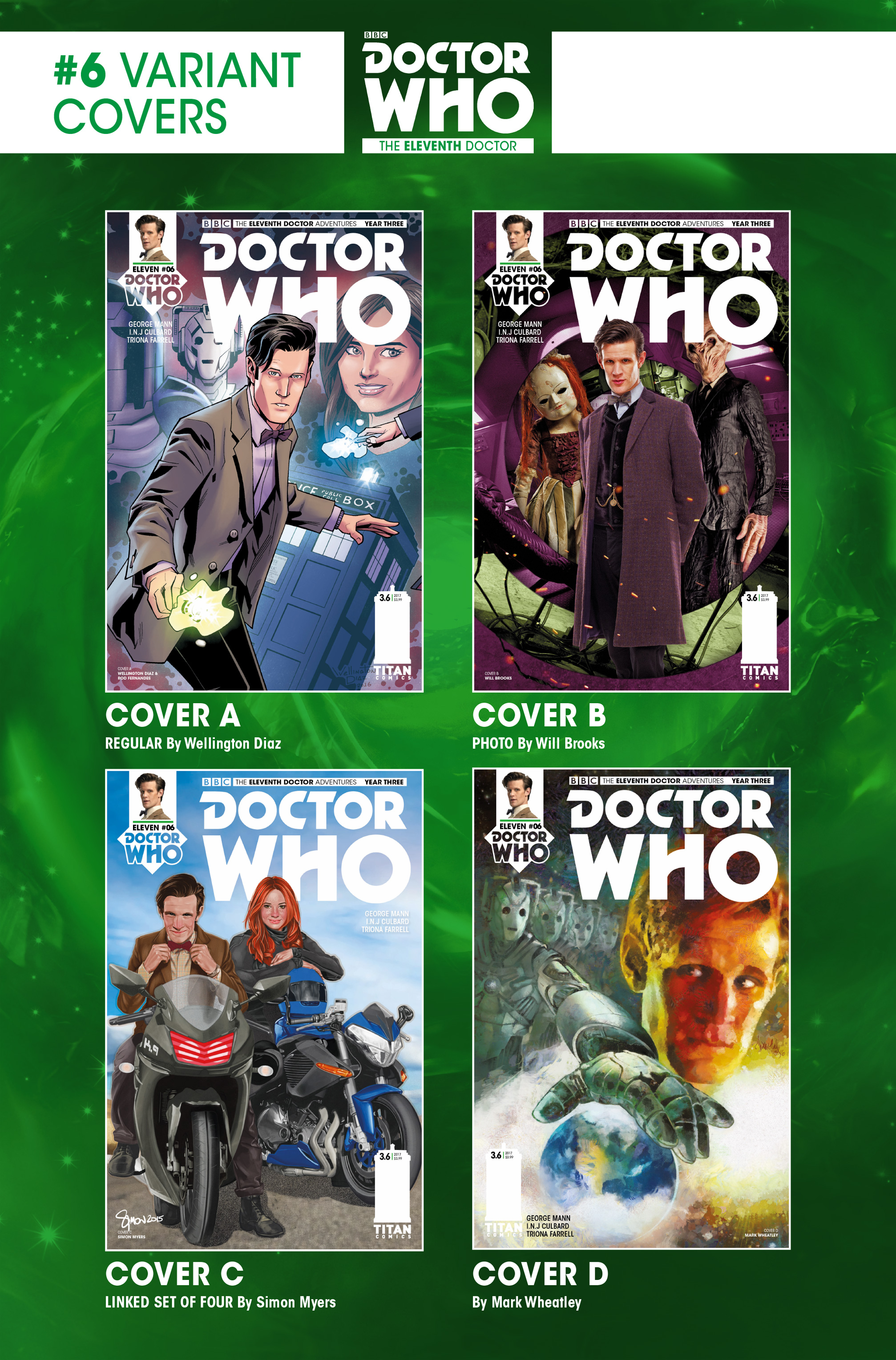 Read online Doctor Who: The Eleventh Doctor Year Three comic -  Issue #6 - 28