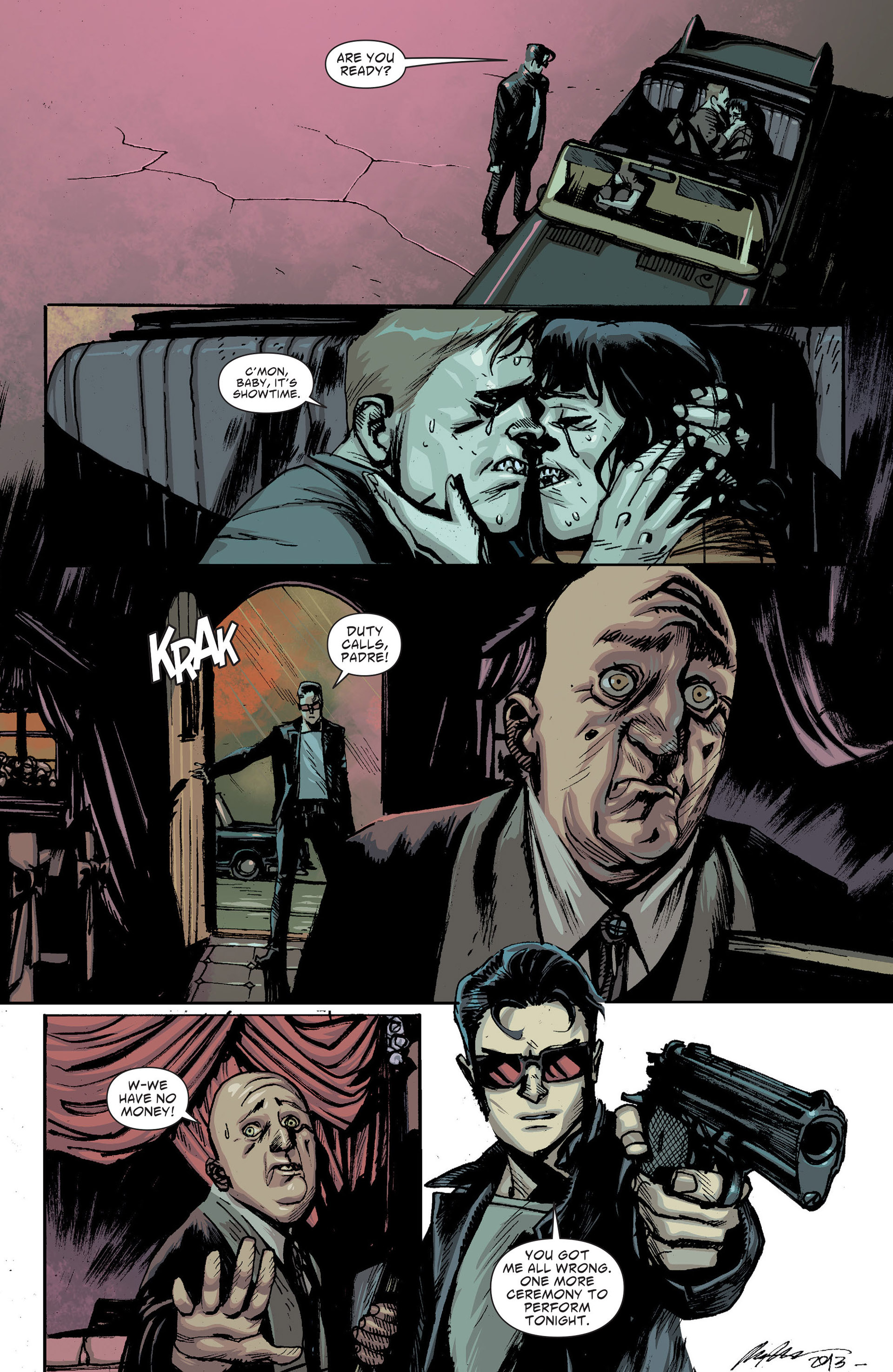 Read online American Vampire: The Long Road To Hell comic -  Issue # Full - 49