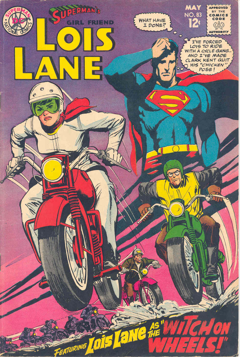 Supermans Girl Friend, Lois Lane 83 Page 1