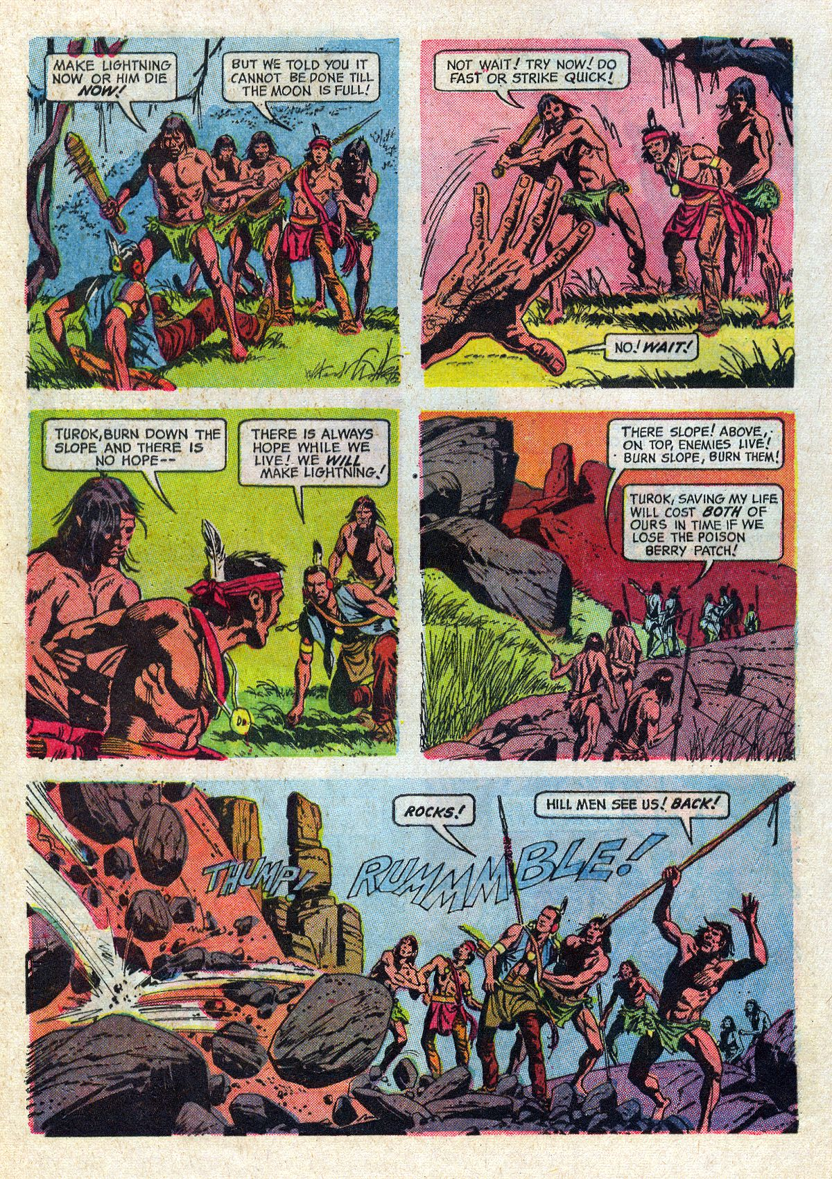 Read online Turok, Son of Stone comic -  Issue #61 - 28