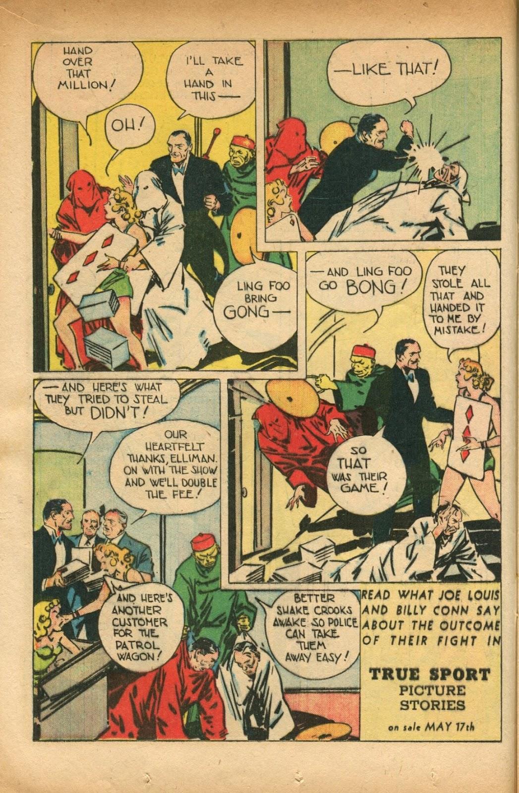 Read online Super-Magician Comics comic -  Issue #51 - 16