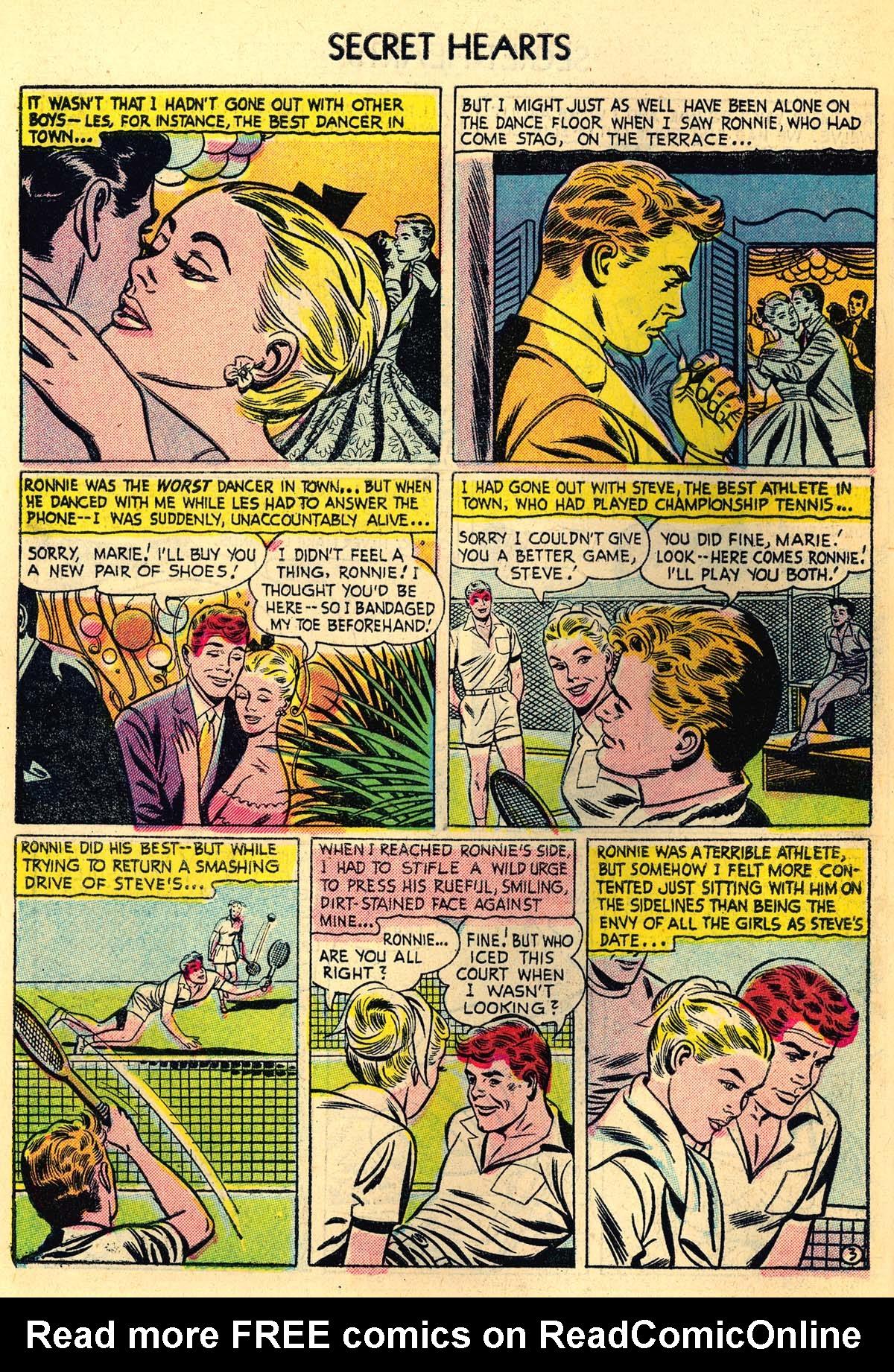 Read online Secret Hearts comic -  Issue #30 - 28