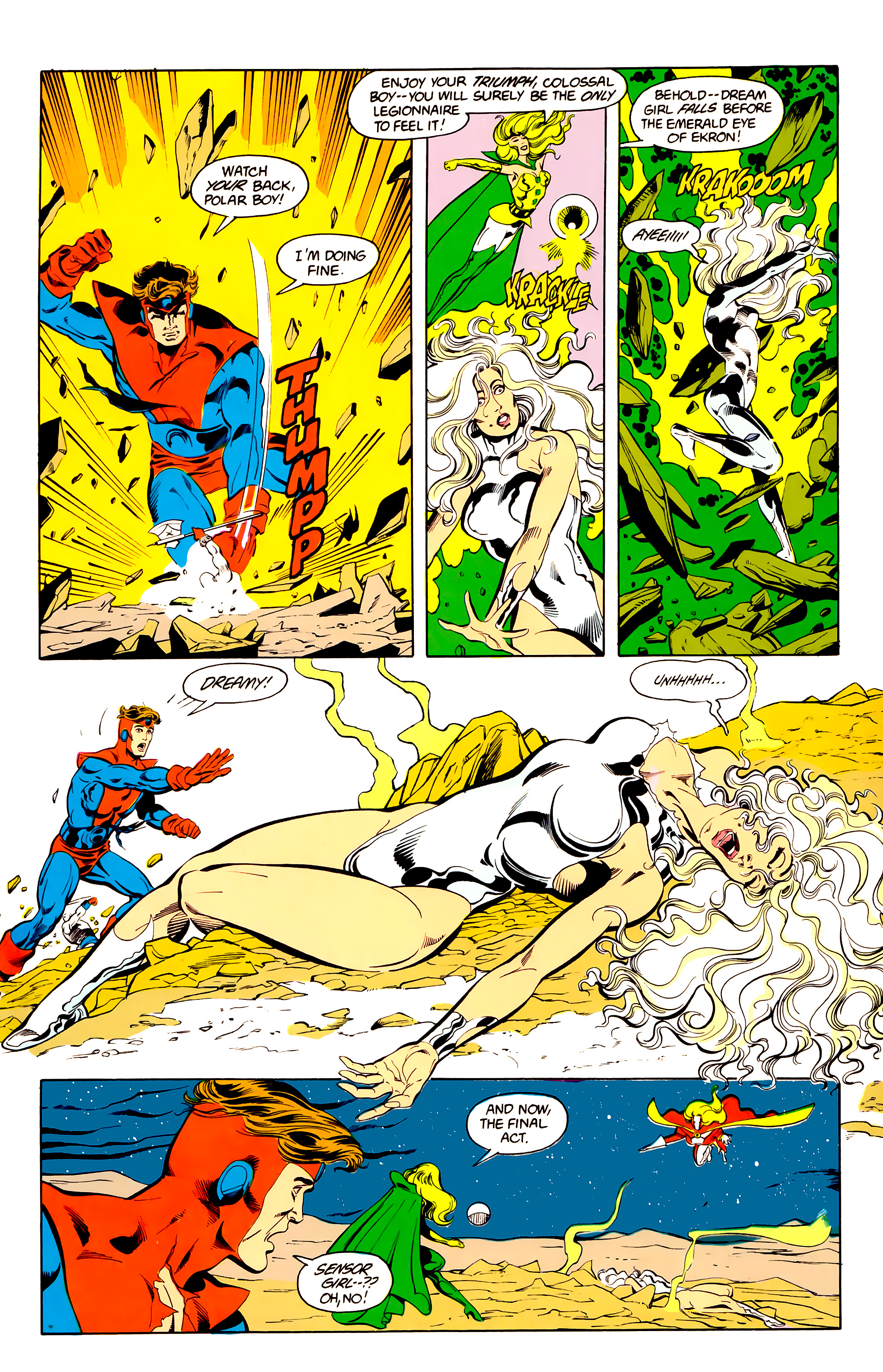 Legion of Super-Heroes (1984) 25 Page 22