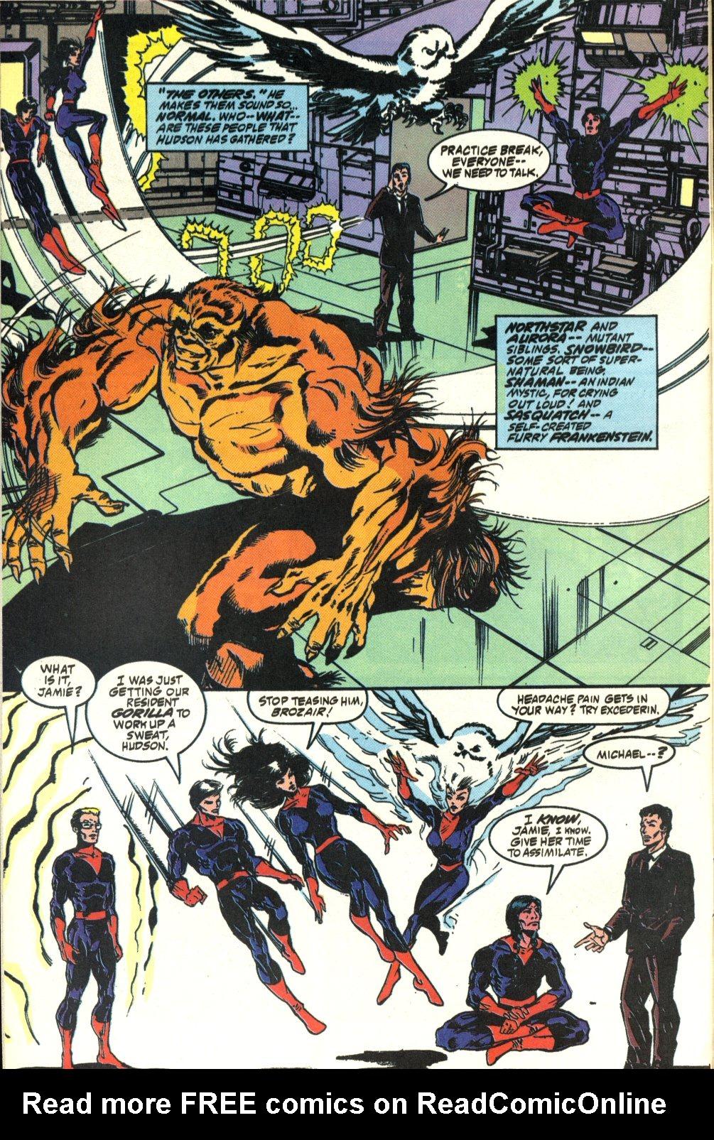 Read online Alpha Flight (1983) comic -  Issue #92 - 8