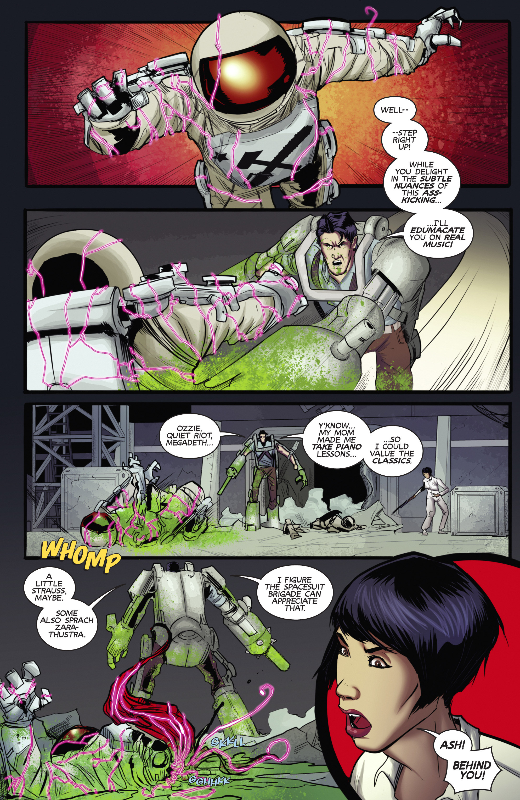 Read online Army of Darkness (2014) comic -  Issue #4 - 7