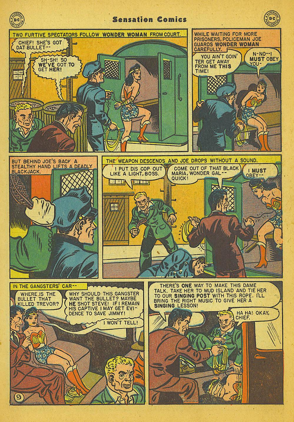 Read online Sensation (Mystery) Comics comic -  Issue #66 - 11