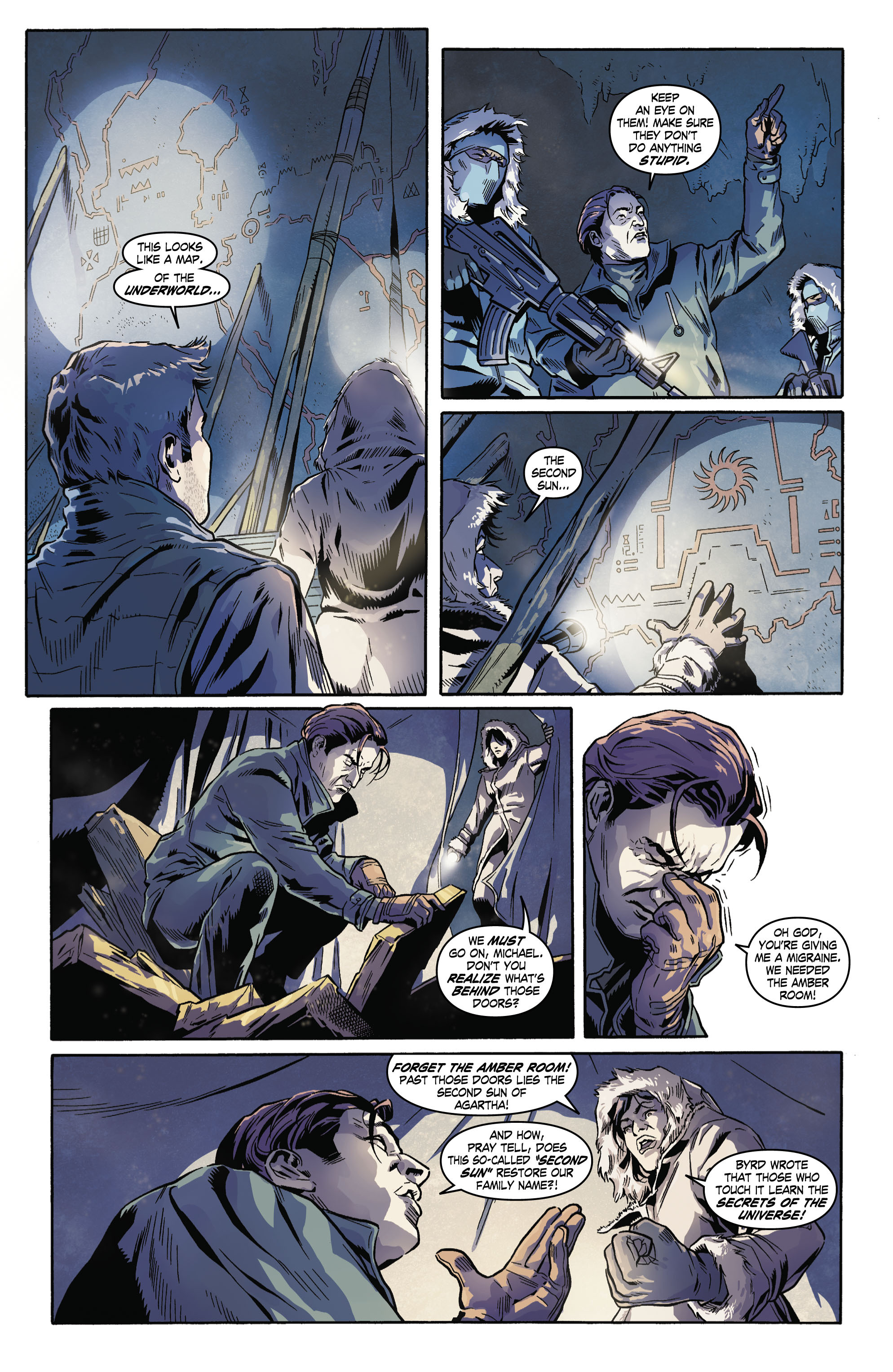 Read online Uncharted comic -  Issue #4 - 7