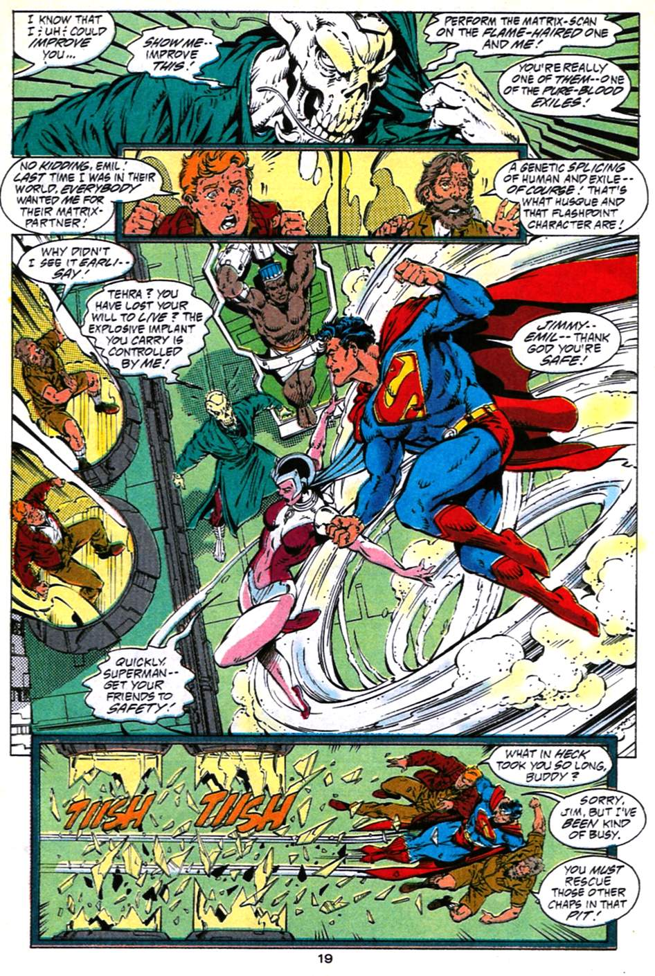 Read online Adventures of Superman (1987) comic -  Issue #490 - 20