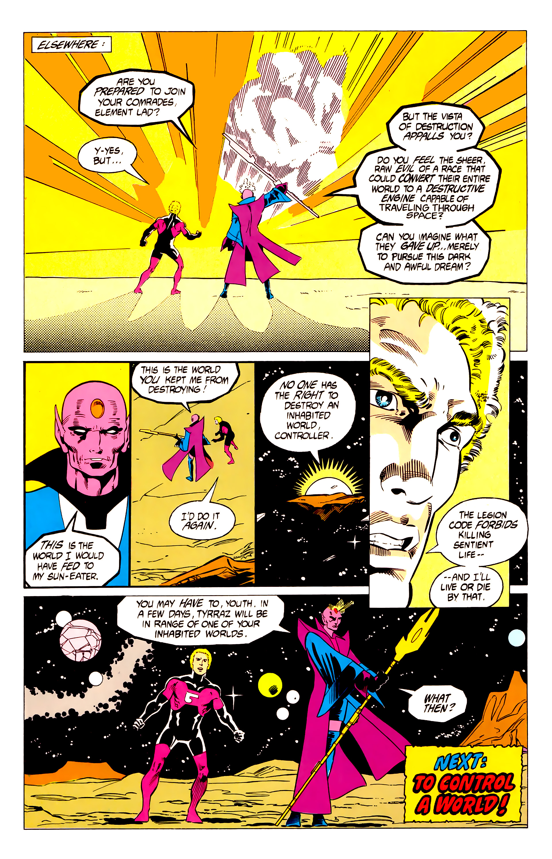 Legion of Super-Heroes (1984) 19 Page 20