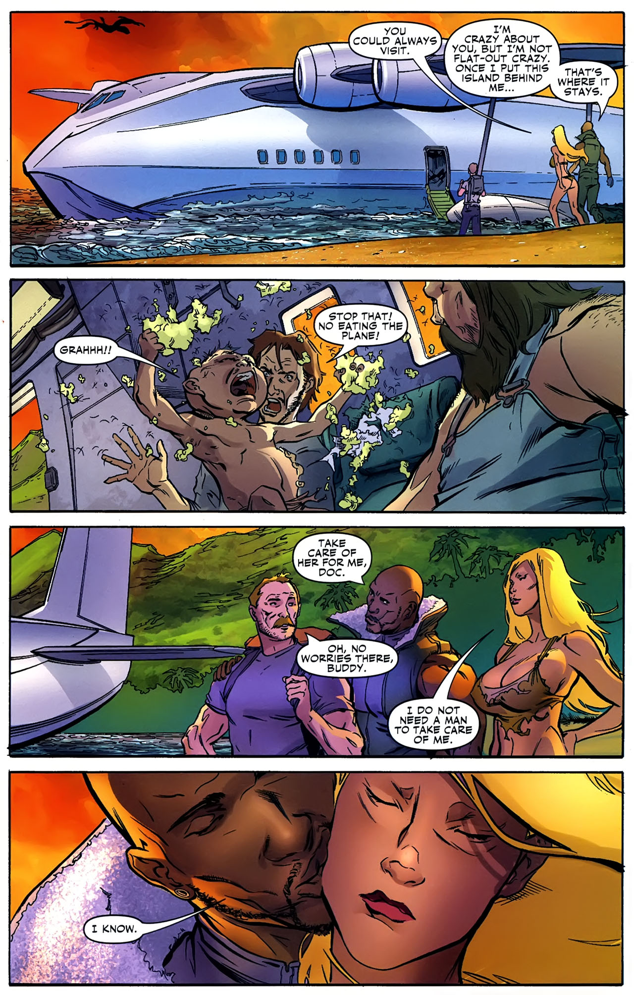 Read online Shanna the She-Devil: Survival of the Fittest comic -  Issue #4 - 21