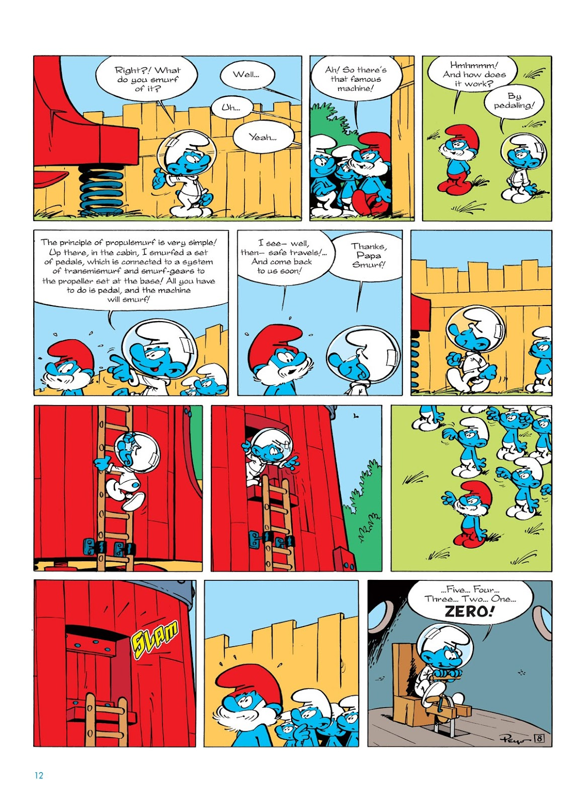 Read online The Smurfs comic -  Issue #7 - 12
