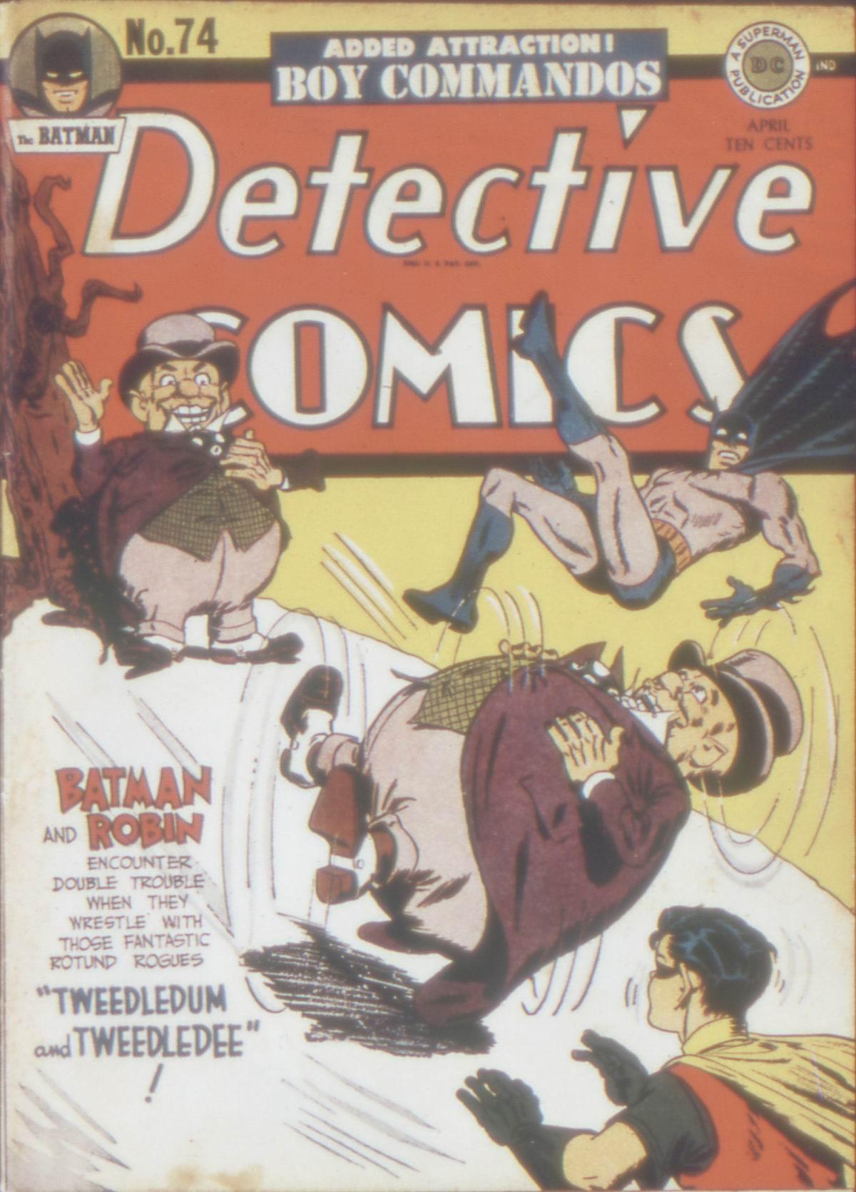 Detective Comics (1937) 74 Page 0