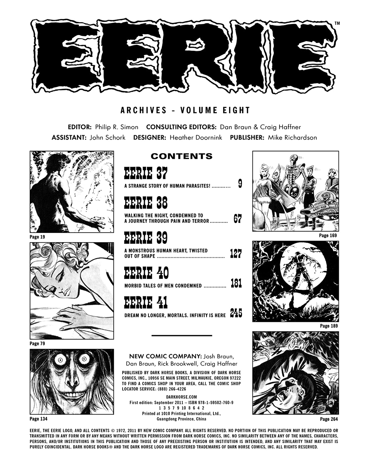 Read online Eerie Archives comic -  Issue # TPB 8 - 4