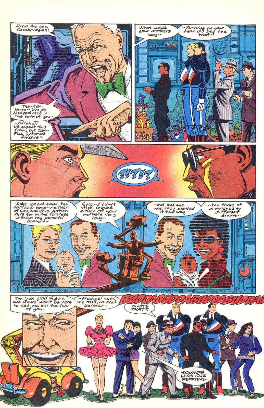 Howard Chaykin's American Flagg issue 12 - Page 7