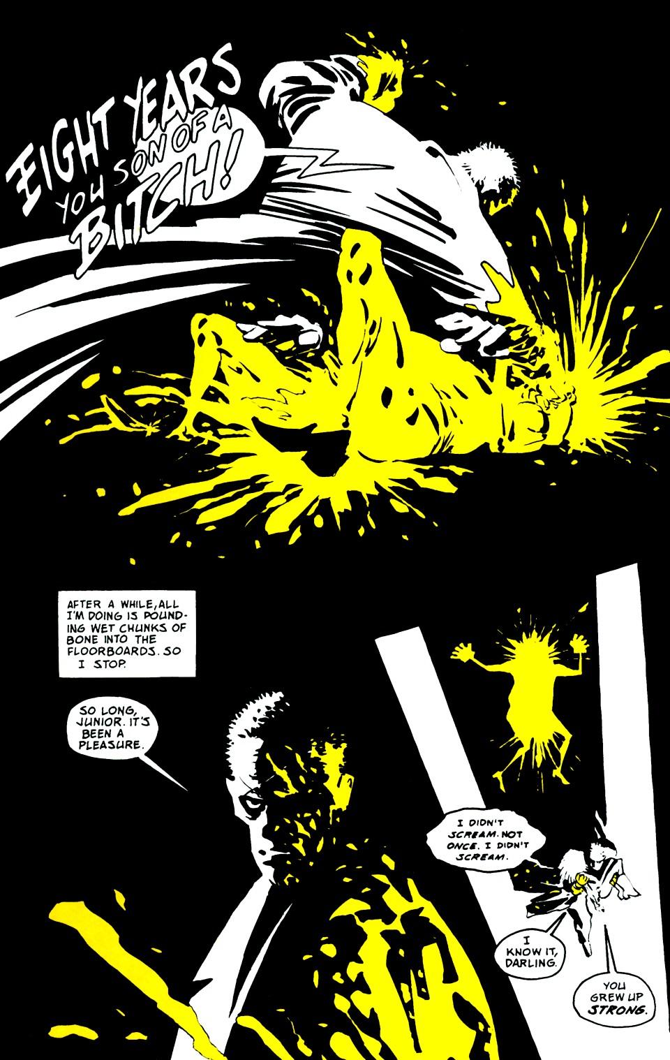Read online Sin City: That Yellow Bastard comic -  Issue #6 - 38